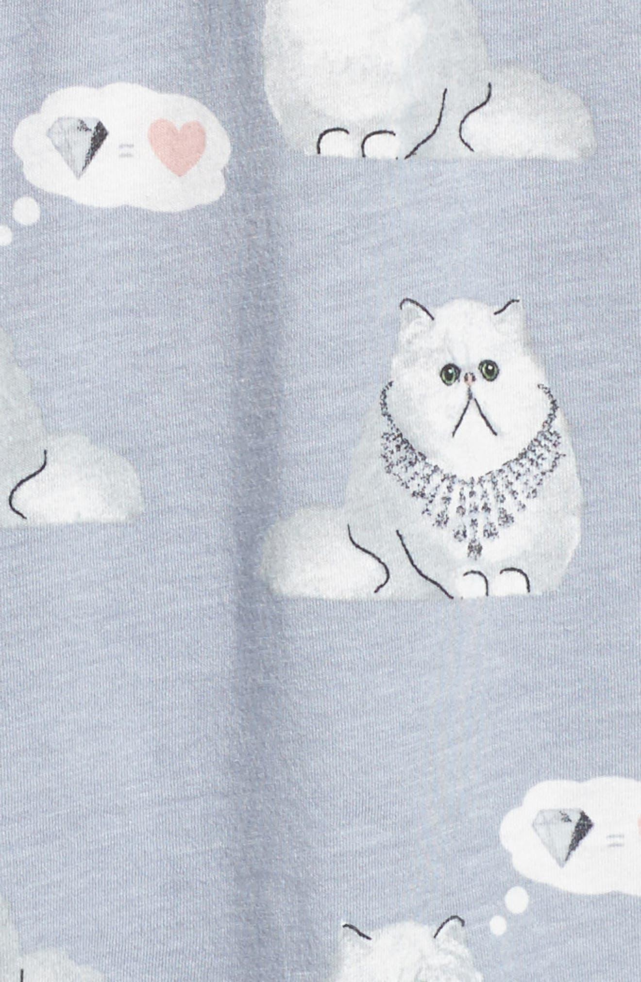 Alternate Image 2  - PJ Salvage Playful Print Pajamas & Eye Mask