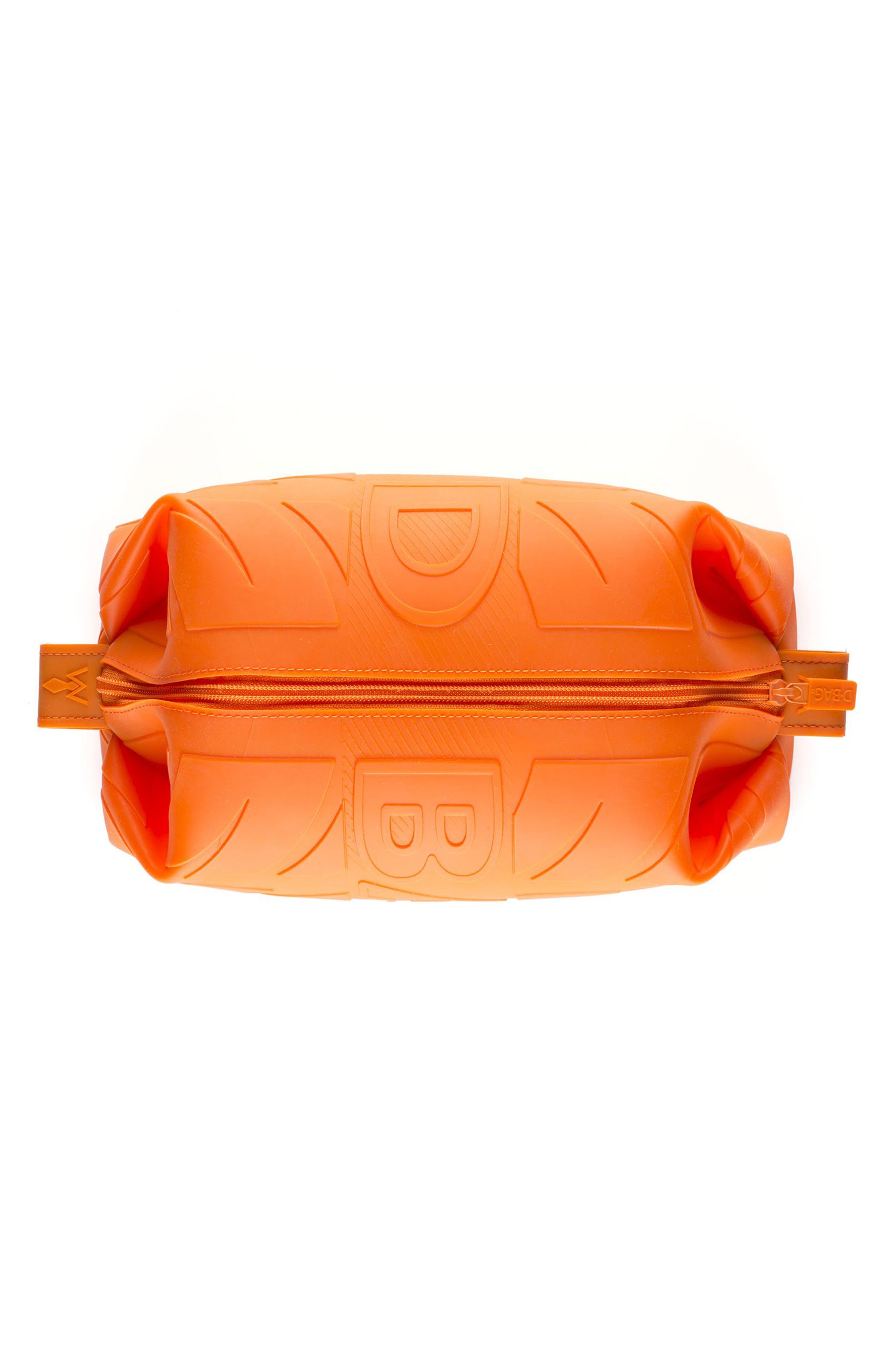 Silicone Travel Kit,                             Alternate thumbnail 2, color,                             Orange