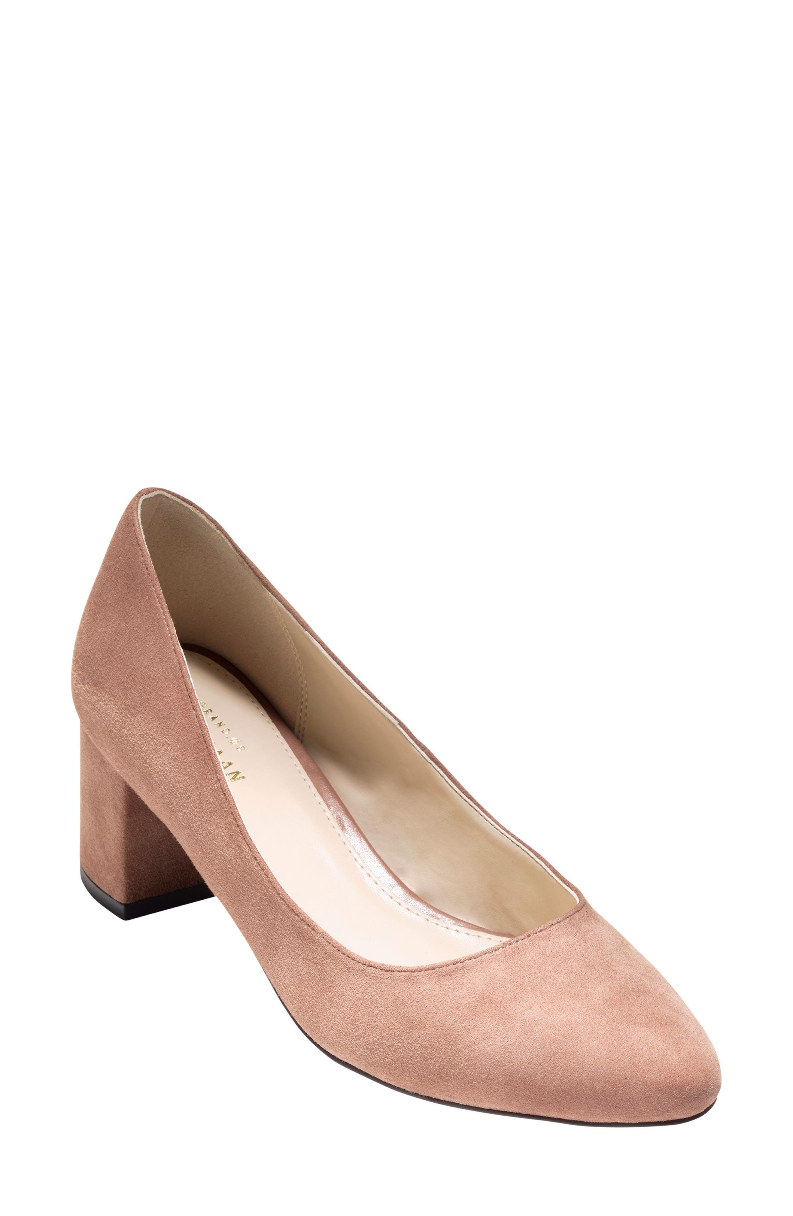 Cole Haan Justine Block Heel Pump (Women)
