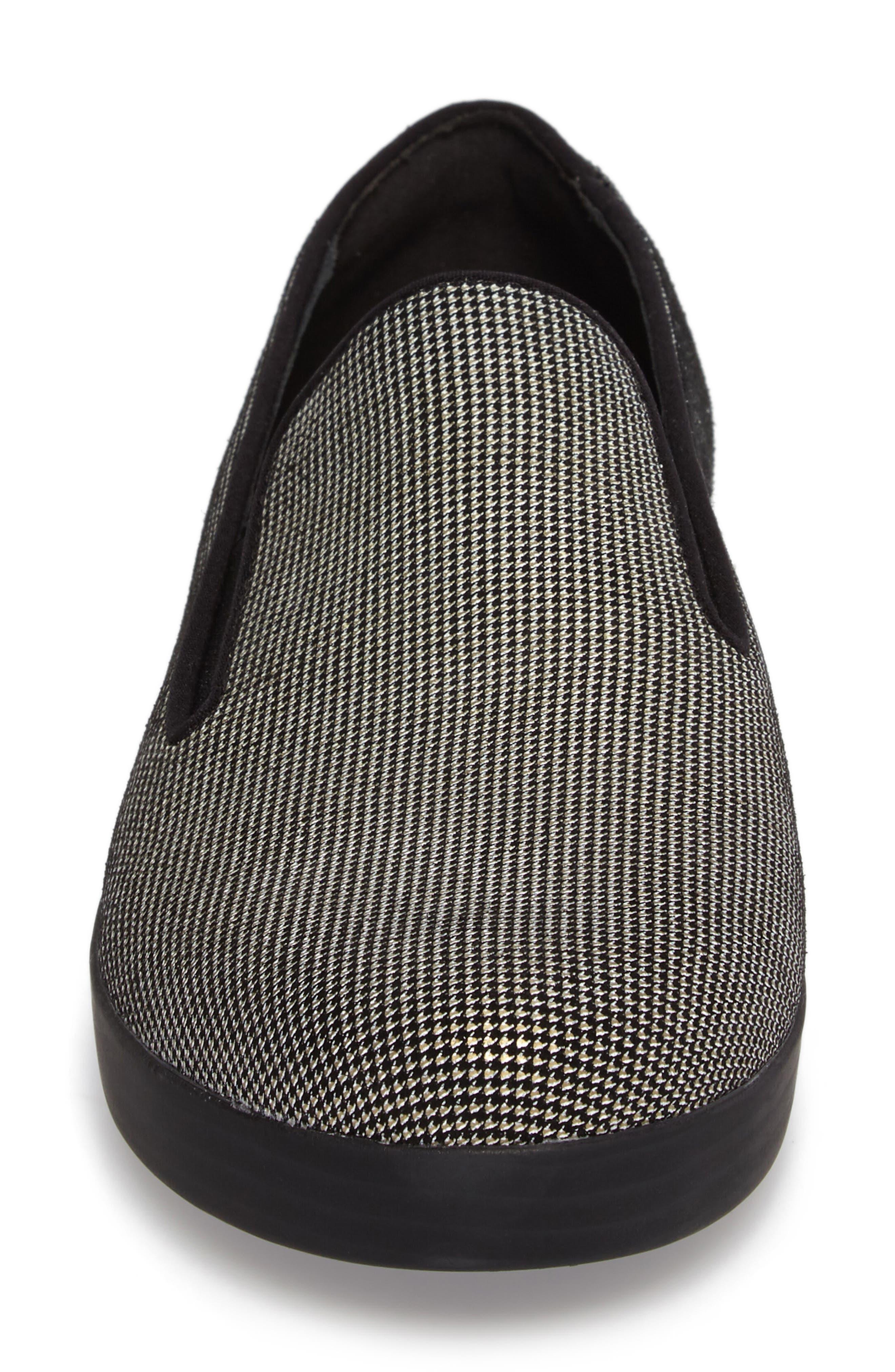 Alternate Image 4  - FitFlop Houndstooth Superskate Sneaker (Women)