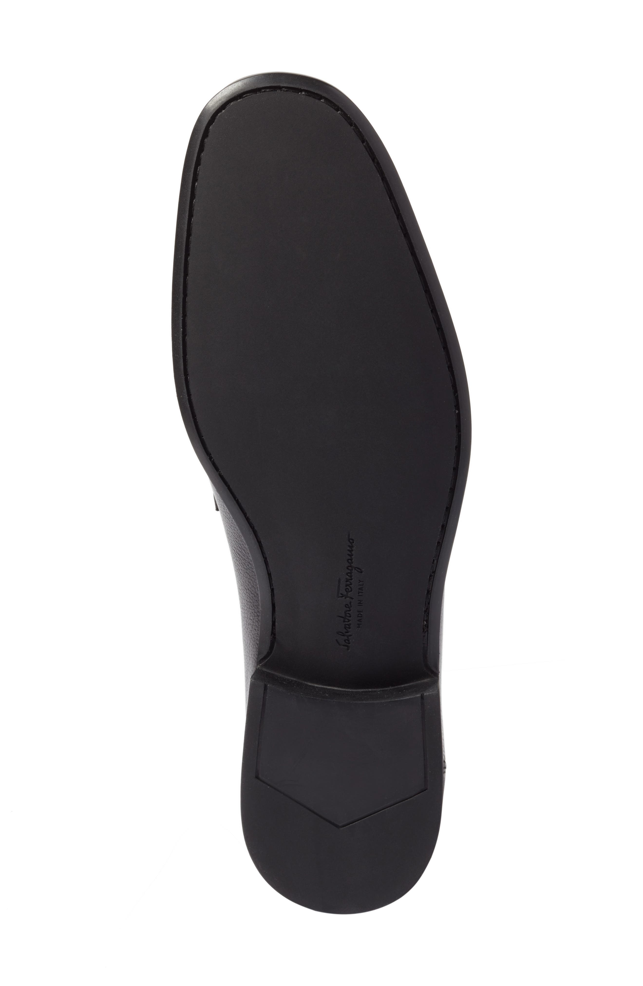 Bit Loafer,                             Alternate thumbnail 6, color,                             Nero Leather