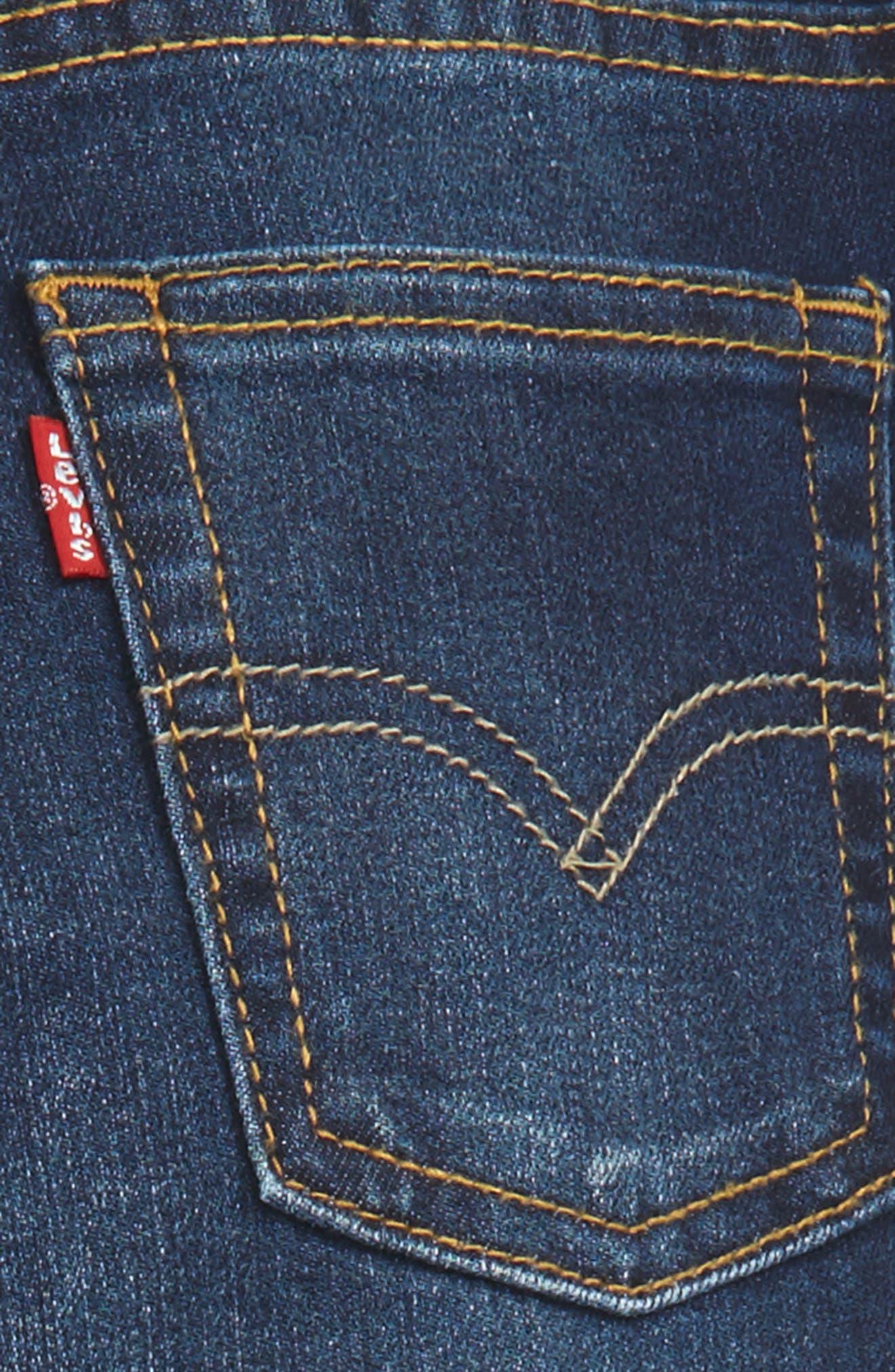 511<sup>™</sup> Knit Slim Leg Jeans,                             Alternate thumbnail 3, color,                             Biker Blue