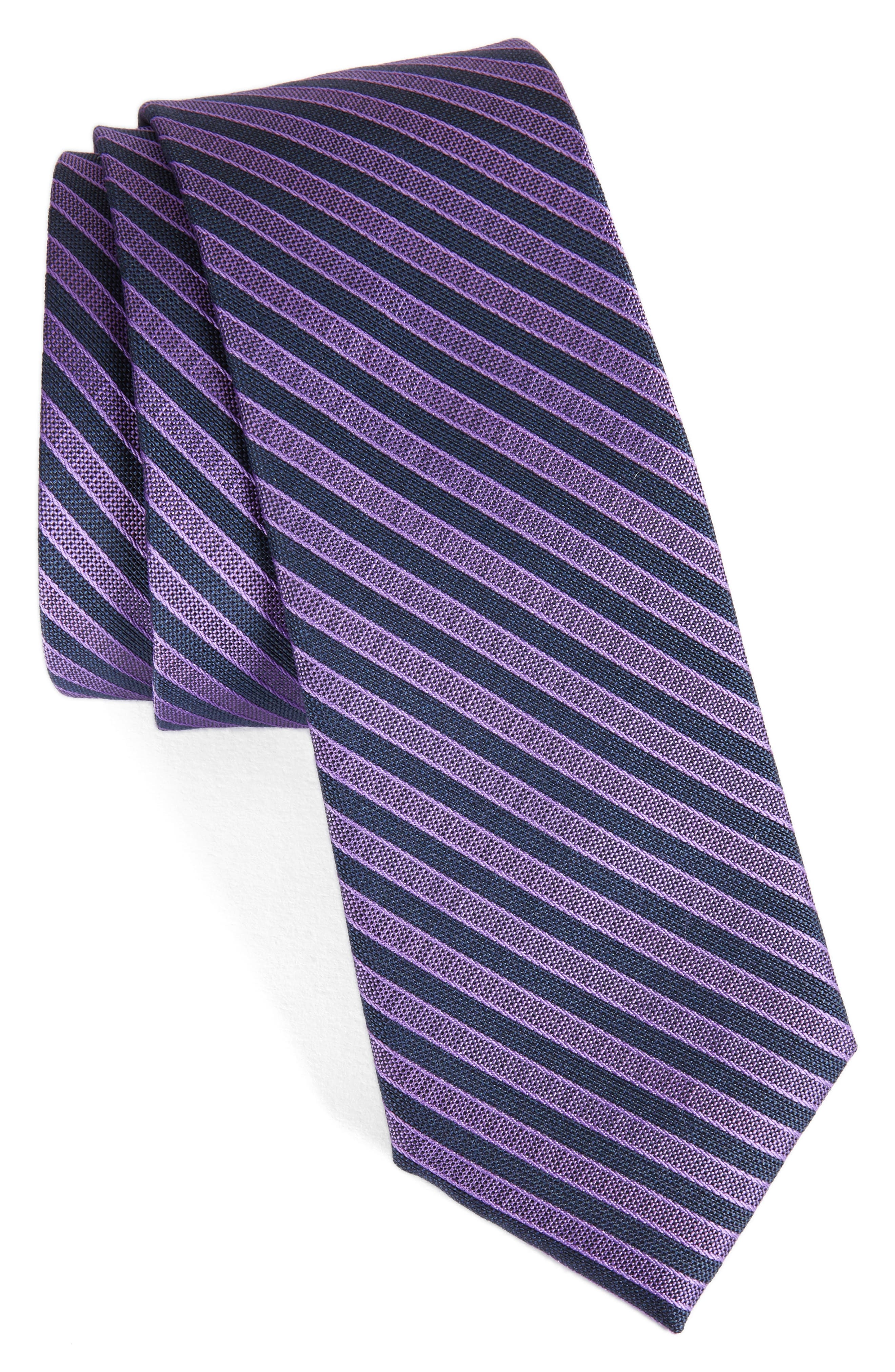 CALIBRATE Pop Up Stripe Tie