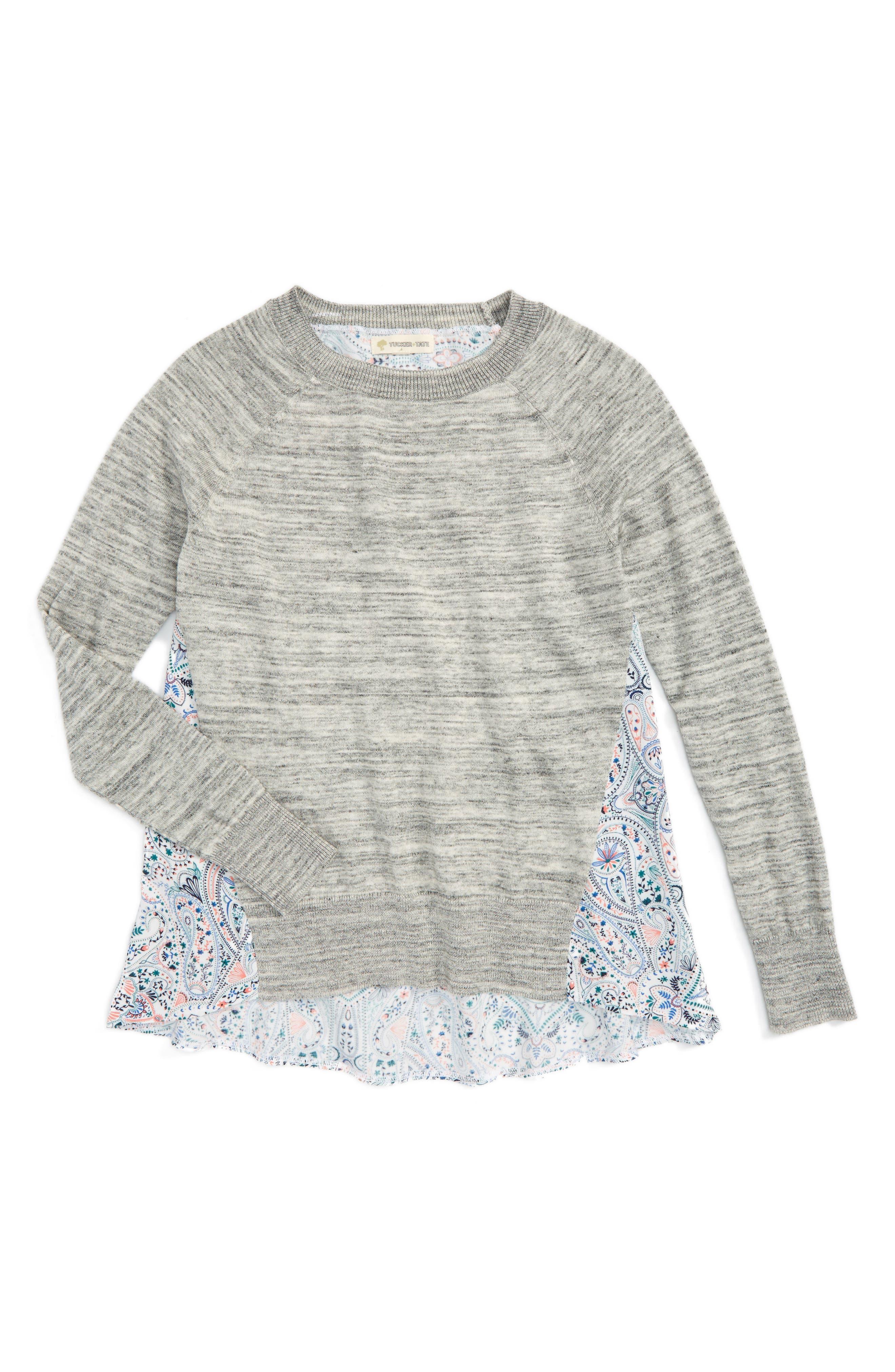 Tucker + Tate Pullover Sweater (Big Girls)