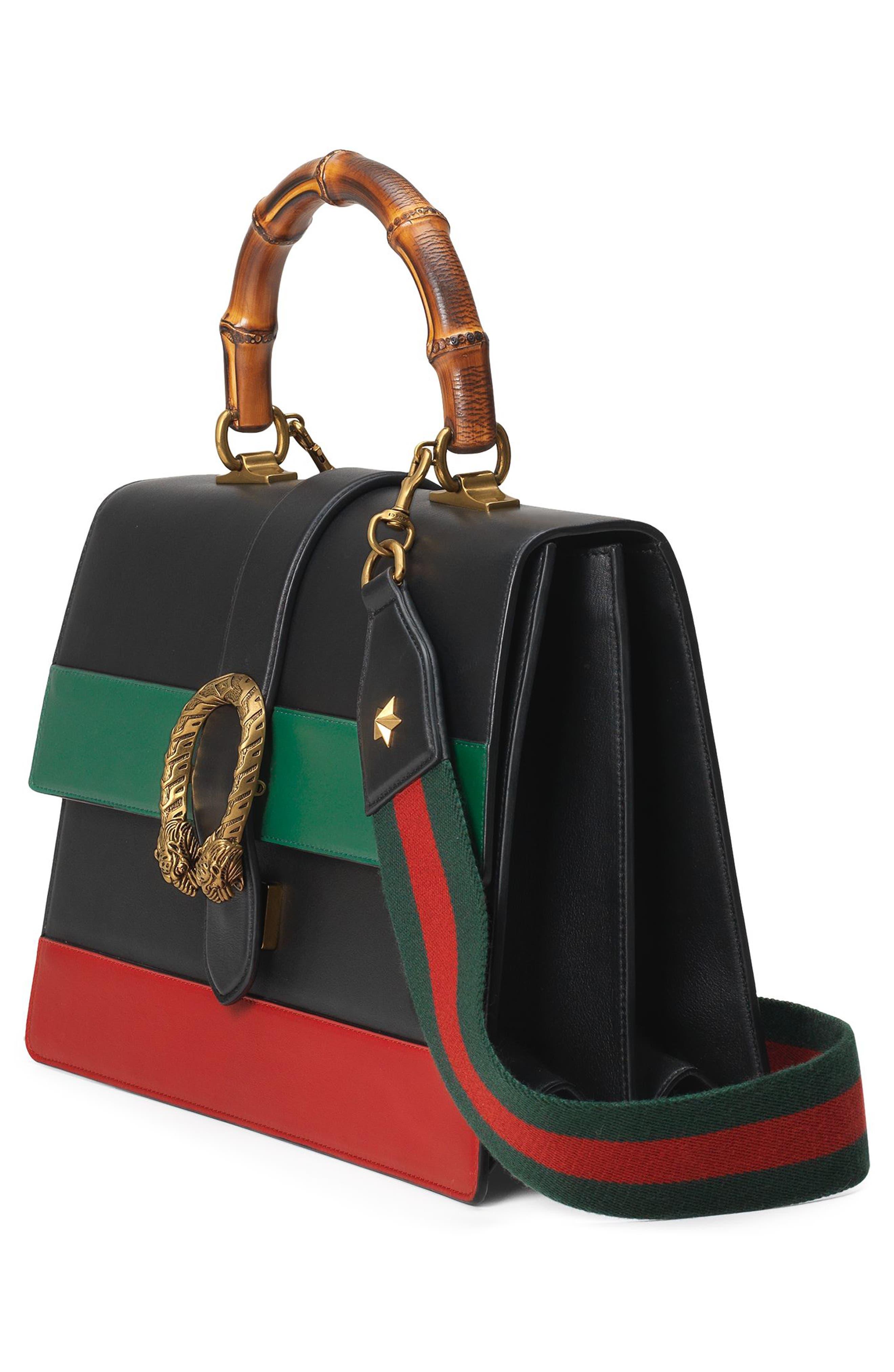 Alternate Image 4  - Gucci Large Dionysus Top Handle Leather Shoulder Bag