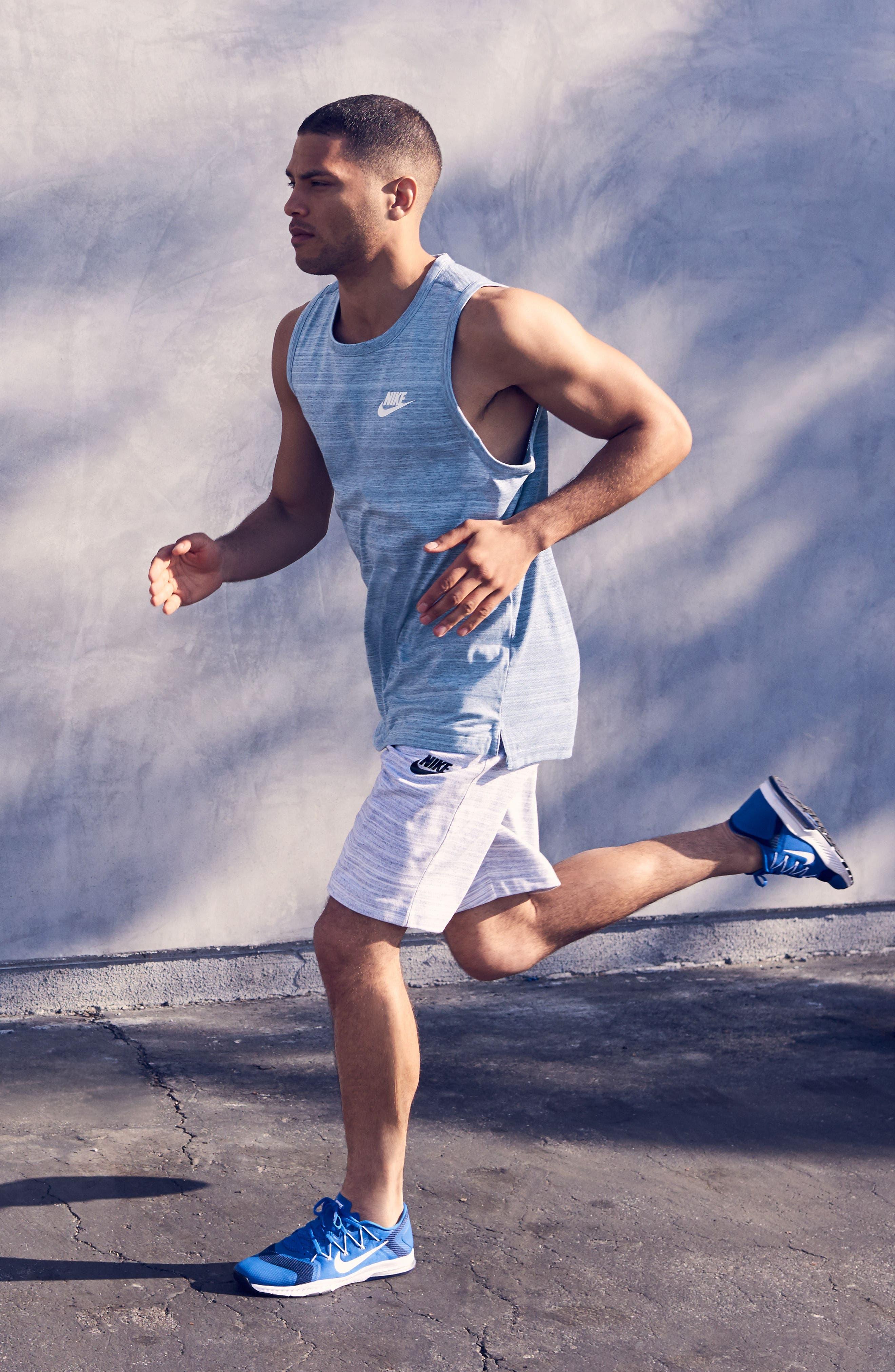 Alternate Image 7  - Nike Mesh Back Training Tank
