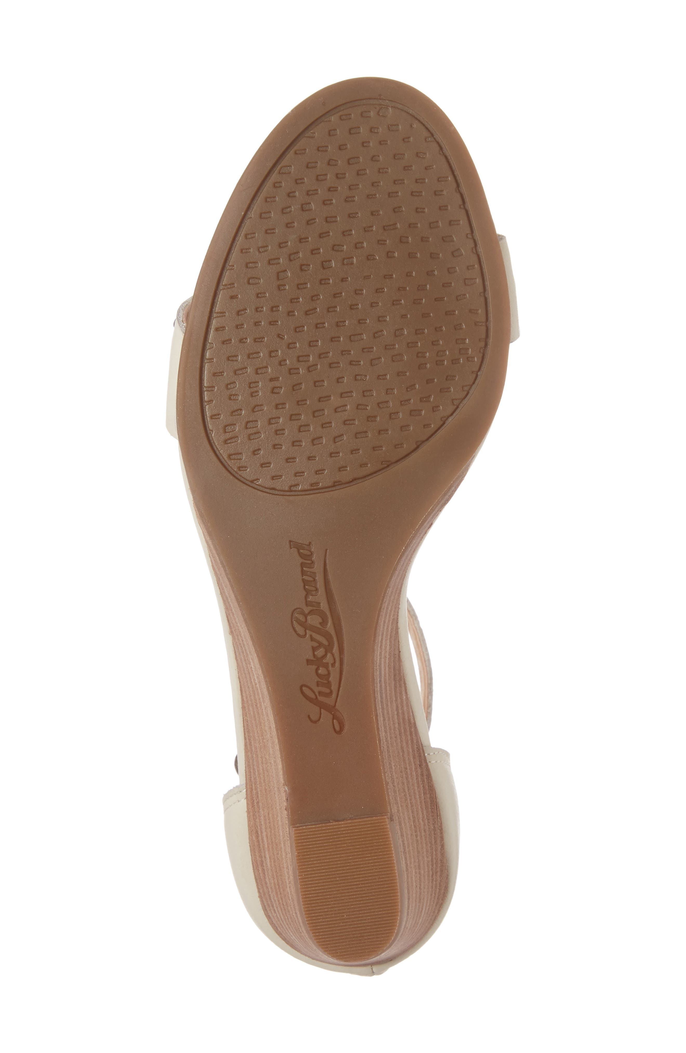 Alternate Image 6  - Lucky Brand Jorey Ankle Strap Wedge Sandal (Women)