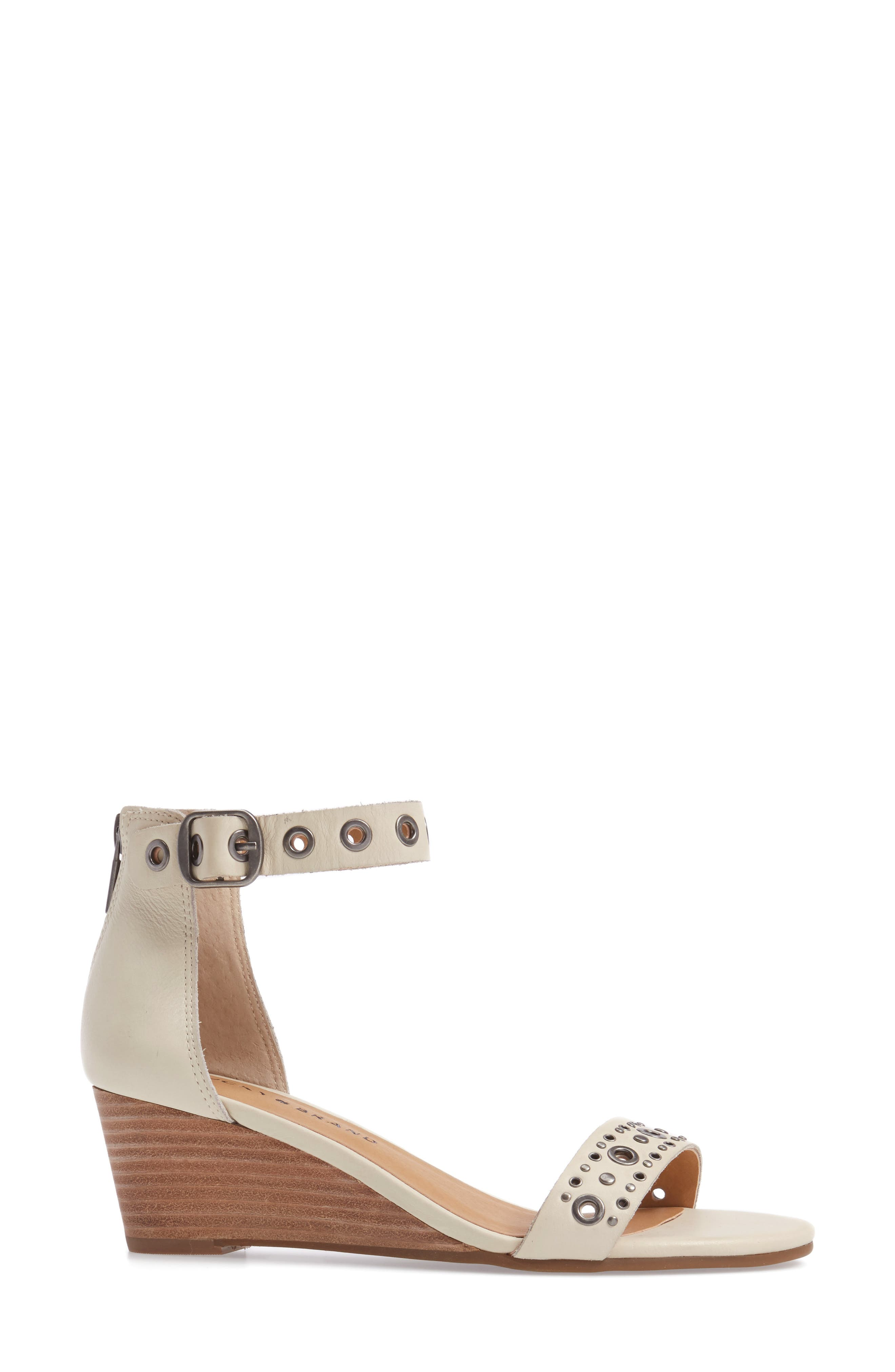 Alternate Image 3  - Lucky Brand Jorey Ankle Strap Wedge Sandal (Women)