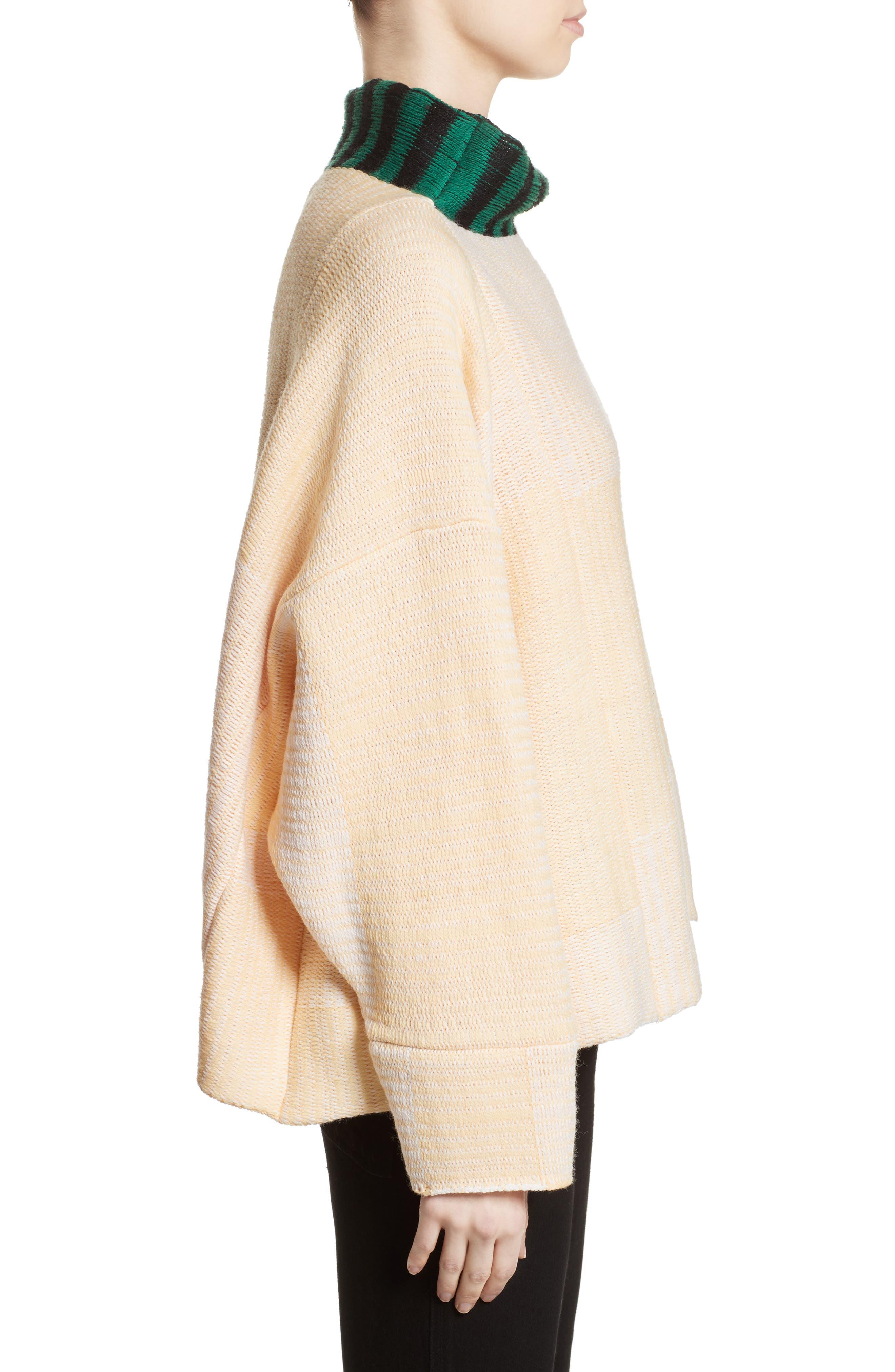 Vented Dolman Sweater,                             Alternate thumbnail 5, color,                             Chamois