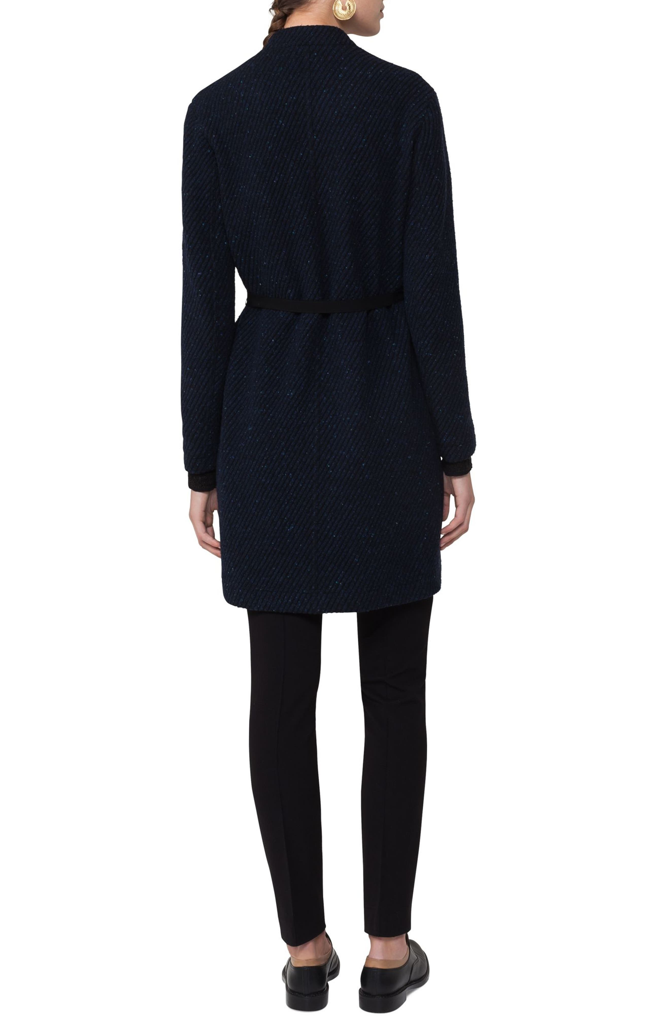 Alternate Image 2  - Akris punto Wool Blend Gabardine Coat