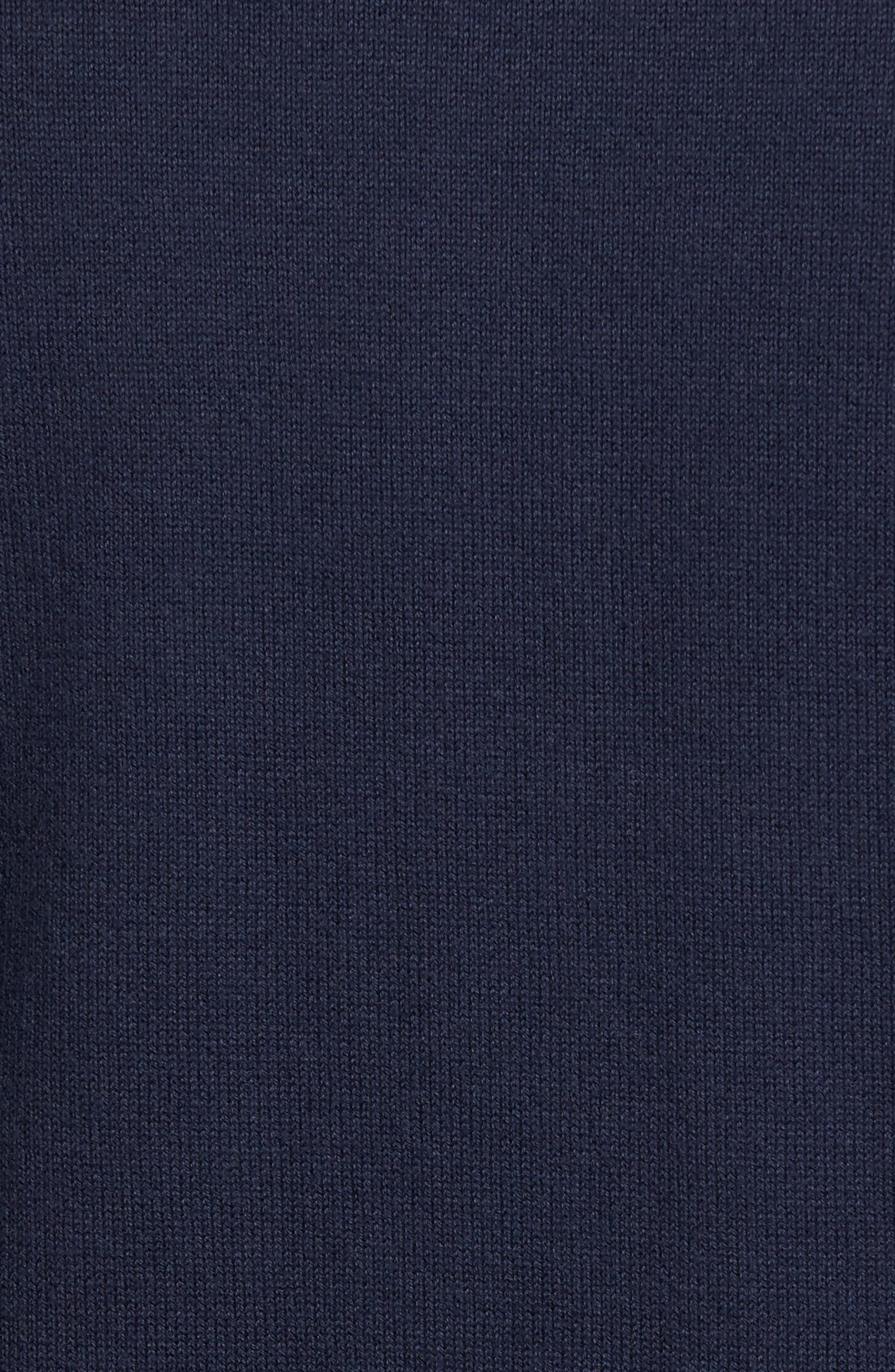 Lakemont Half Zip Sweater,                             Alternate thumbnail 5, color,                             Liberty Navy