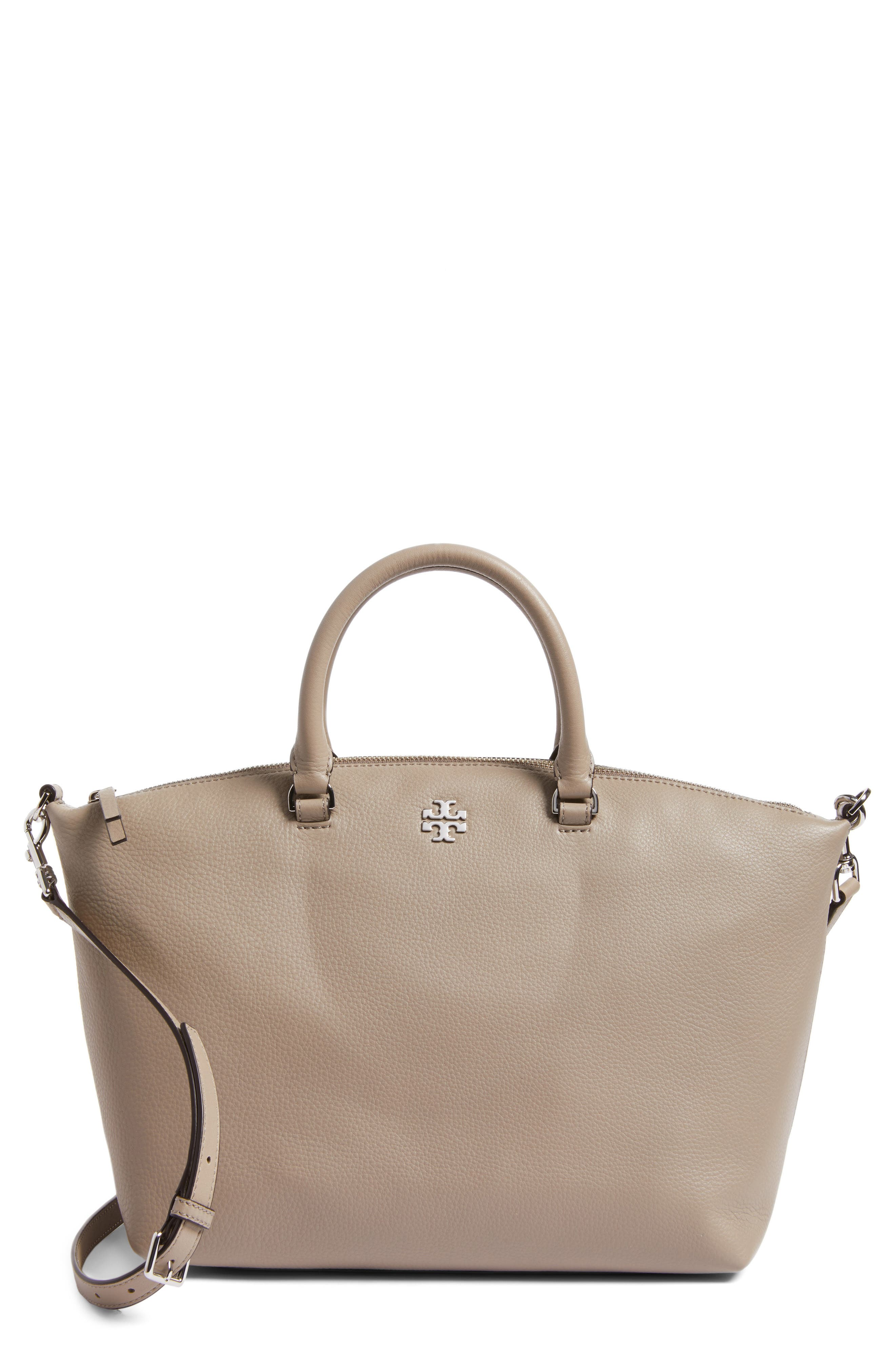 Alternate Image 1 Selected - Tory Burch Frida Leather Satchel (Nordstrom Exclusive)