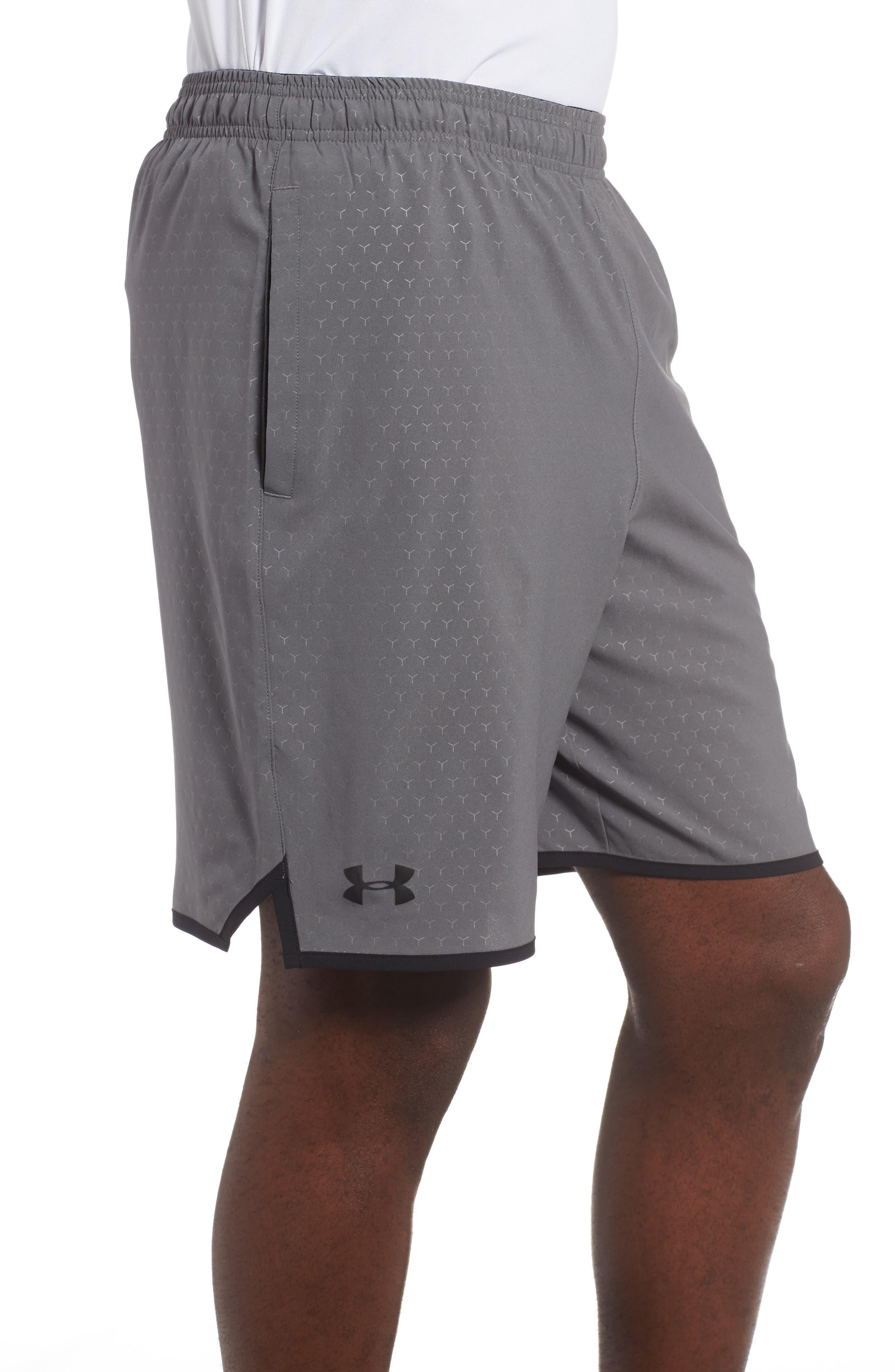 Qualifier Training Shorts,                             Alternate thumbnail 3, color,                             Graphite/ Black