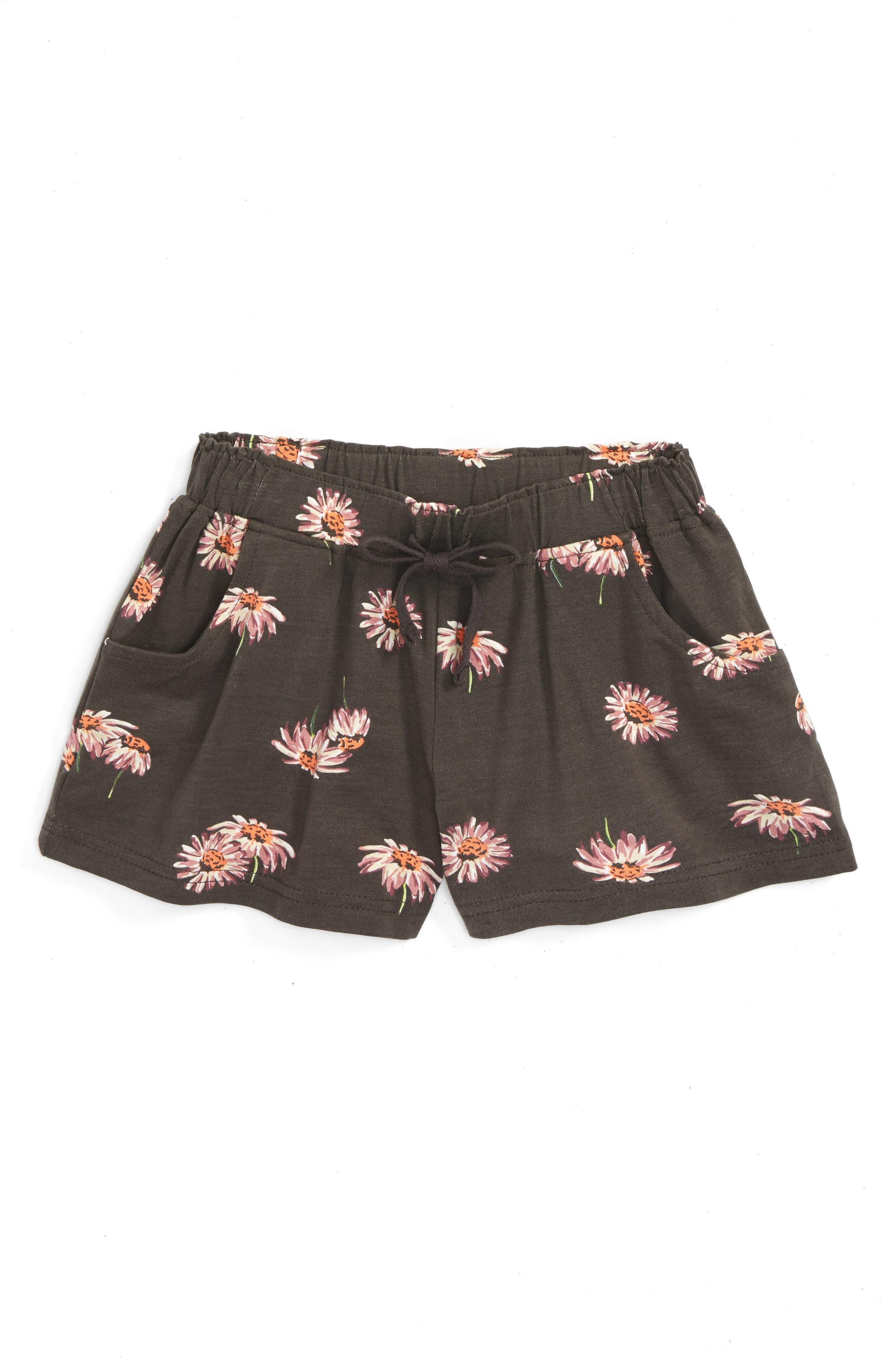 O'Neill Jayden Floral Shorts (Toddler Girls & Little Girls)
