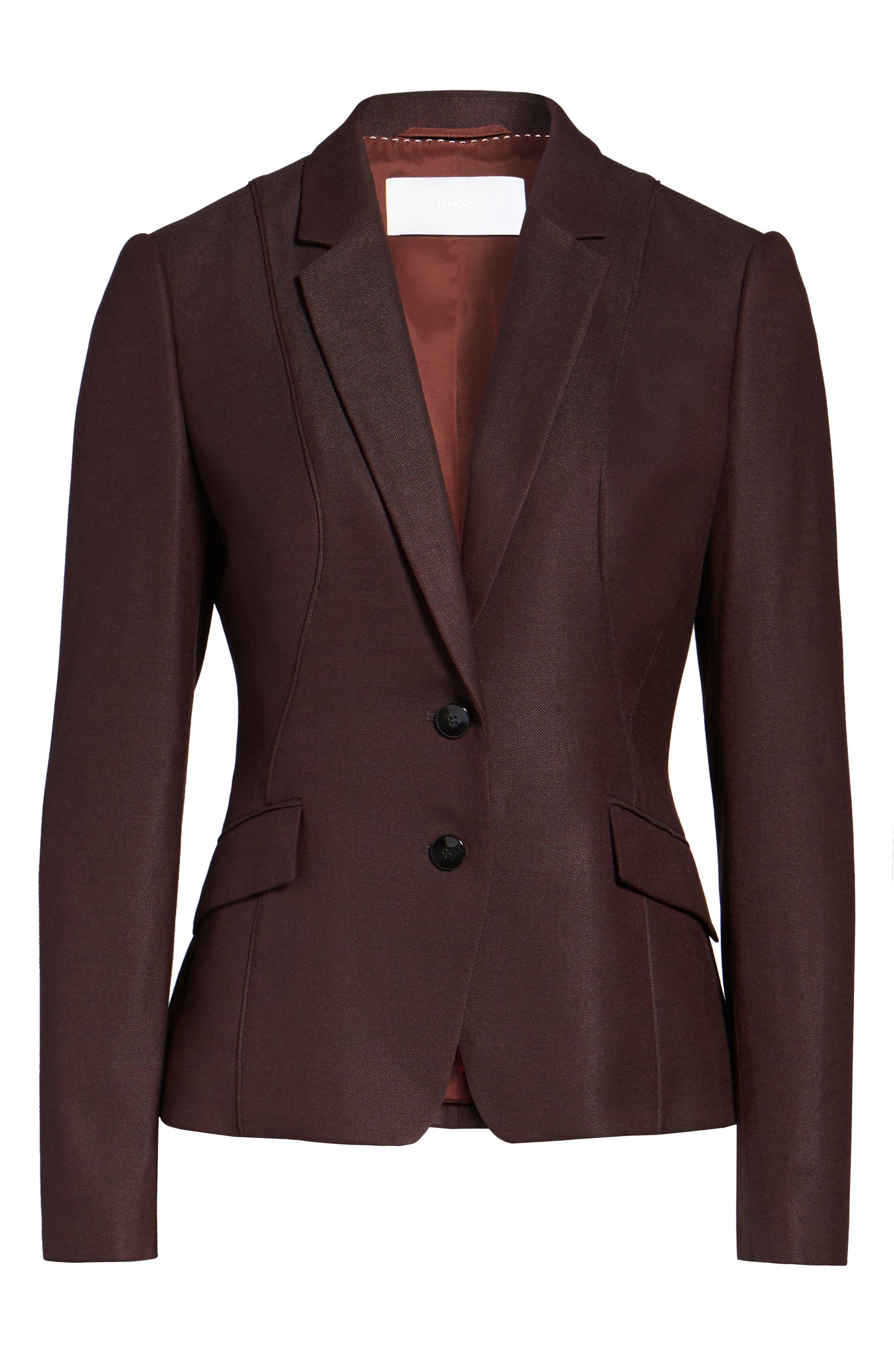 Alternate Image 7  - BOSS Jenesa Suit Jacket