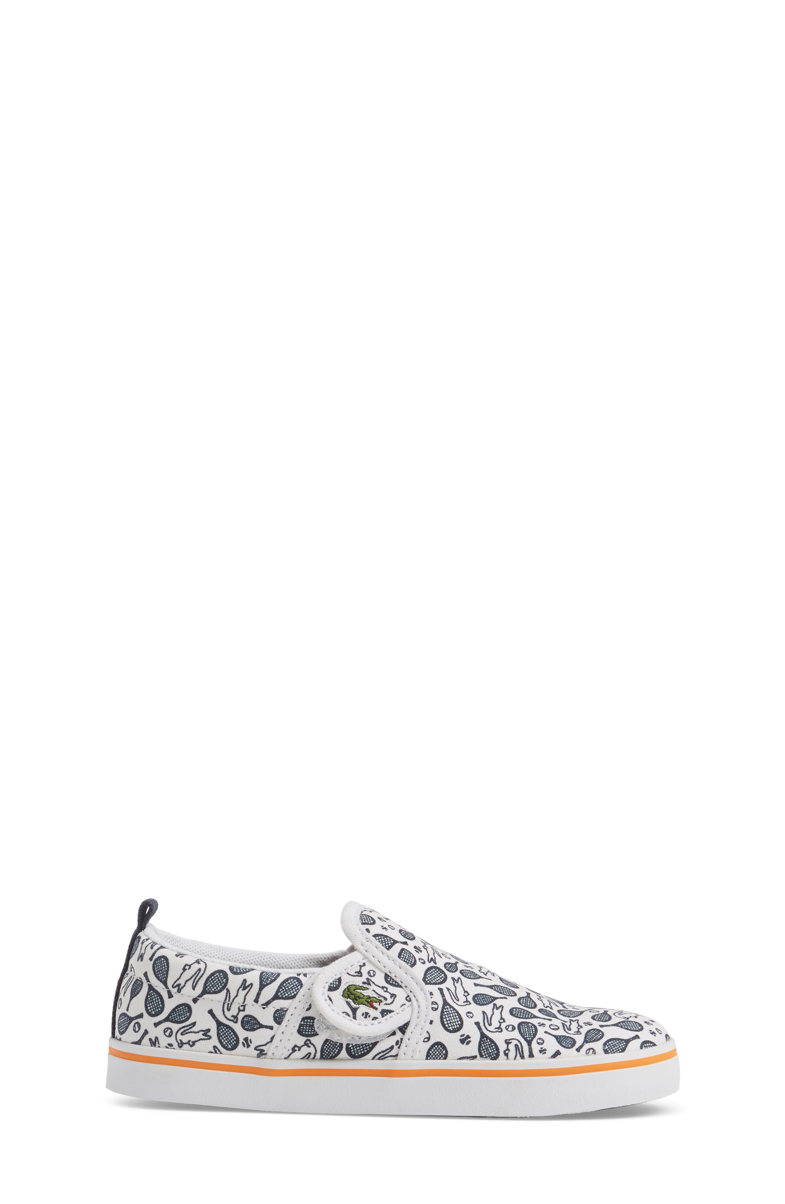 Gazon Slip-On Sneaker,                             Alternate thumbnail 3, color,                             Navy/ White