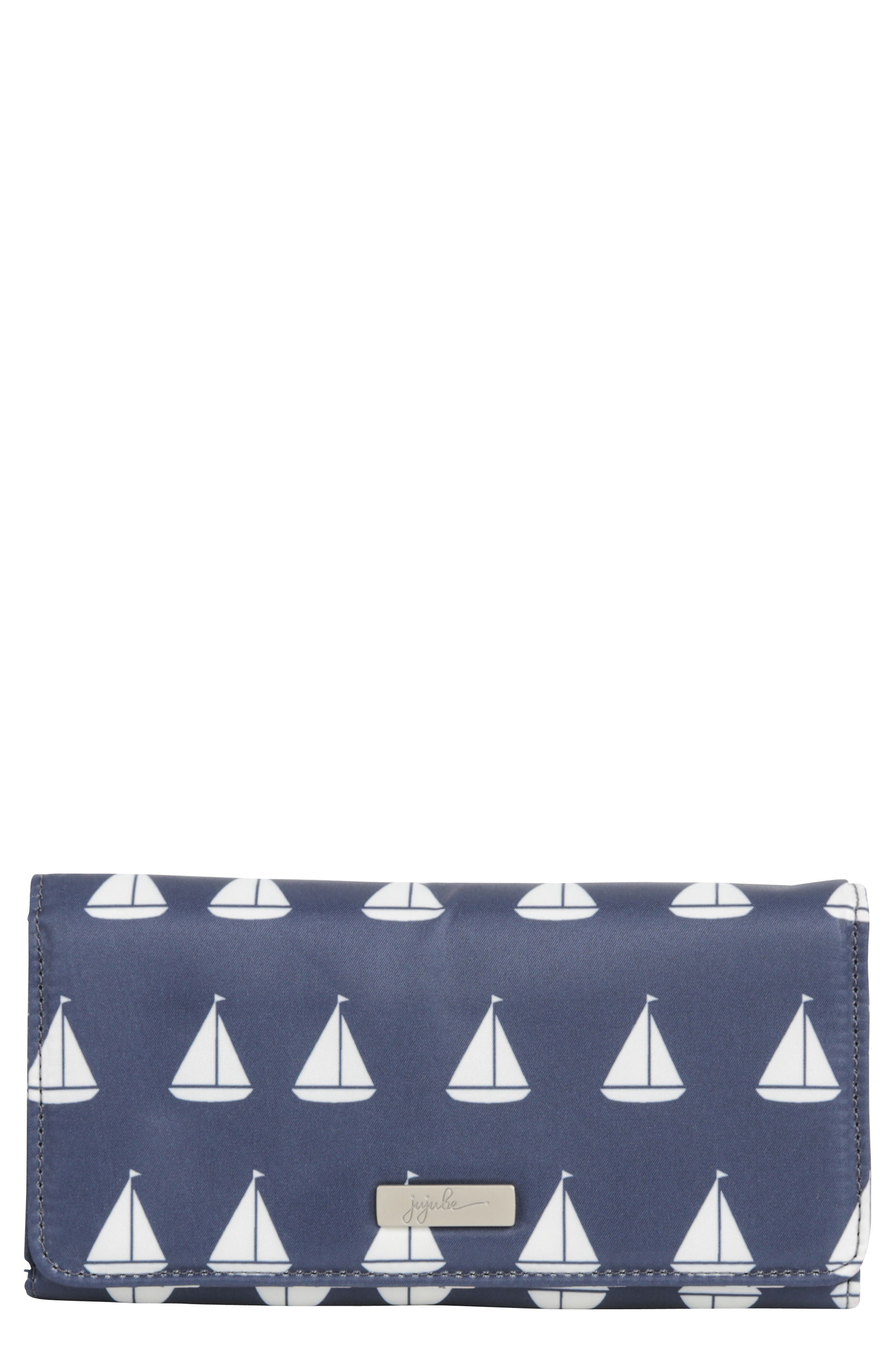 Main Image - Ju-Ju-Be Be Rich - Coastal Collection Trifold Clutch Wallet