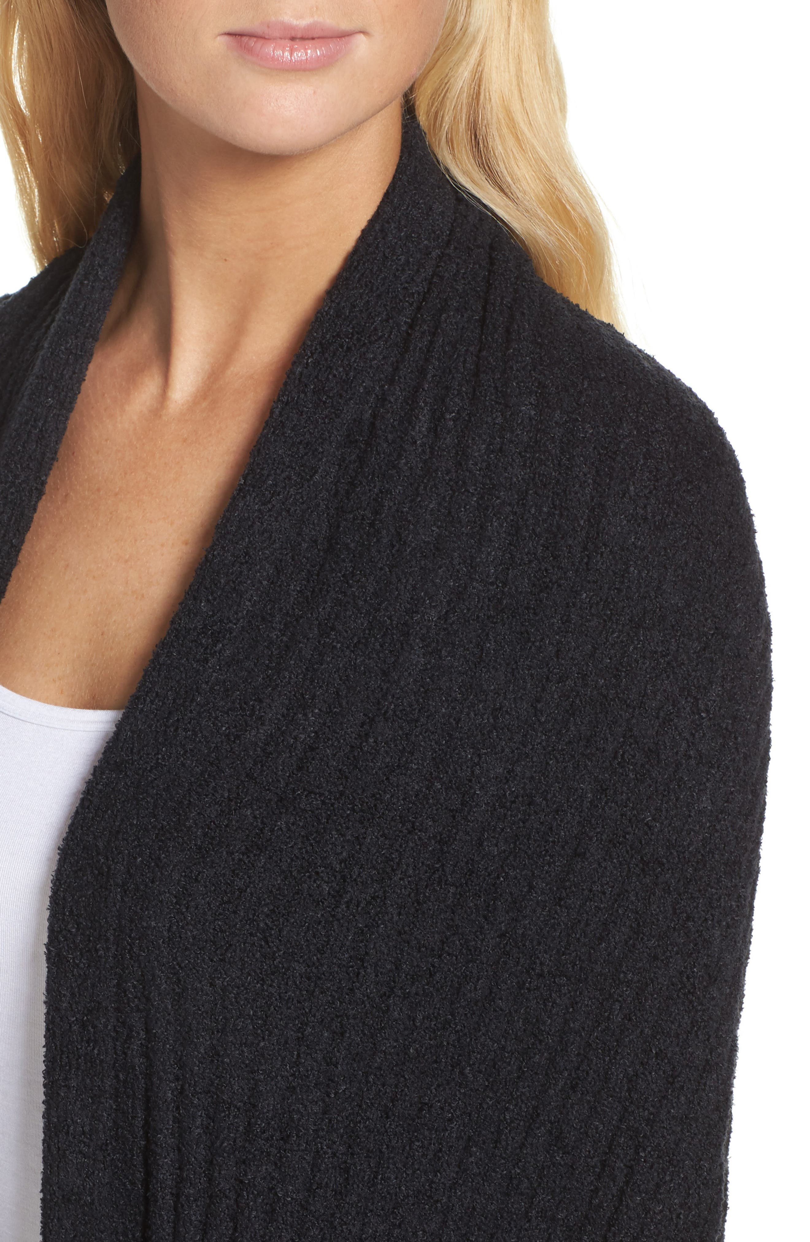 Cozychic Lite<sup>®</sup> Travel Shawl,                             Alternate thumbnail 5, color,                             Midnight