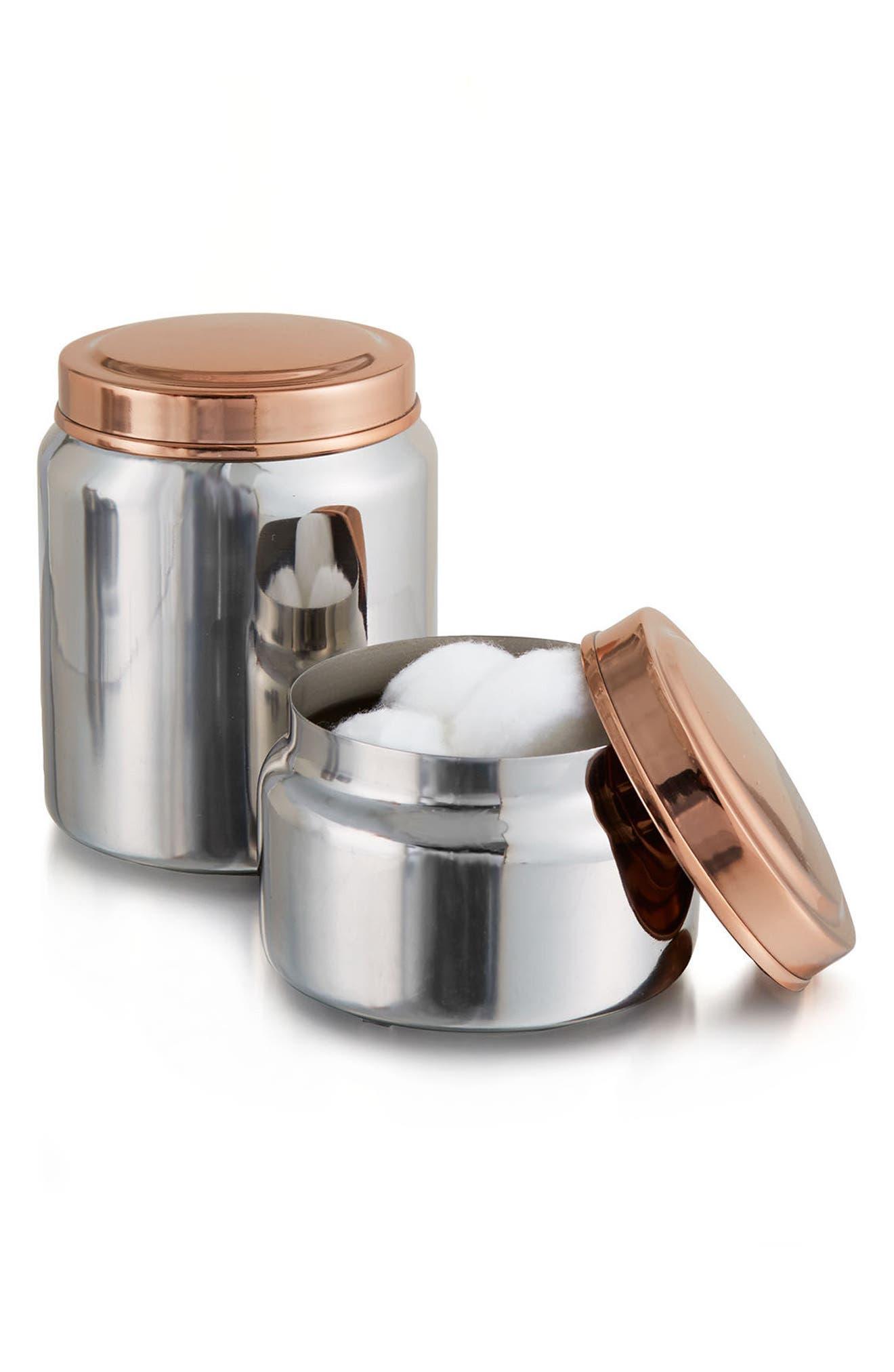 Empire Jar,                         Main,                         color, Silver