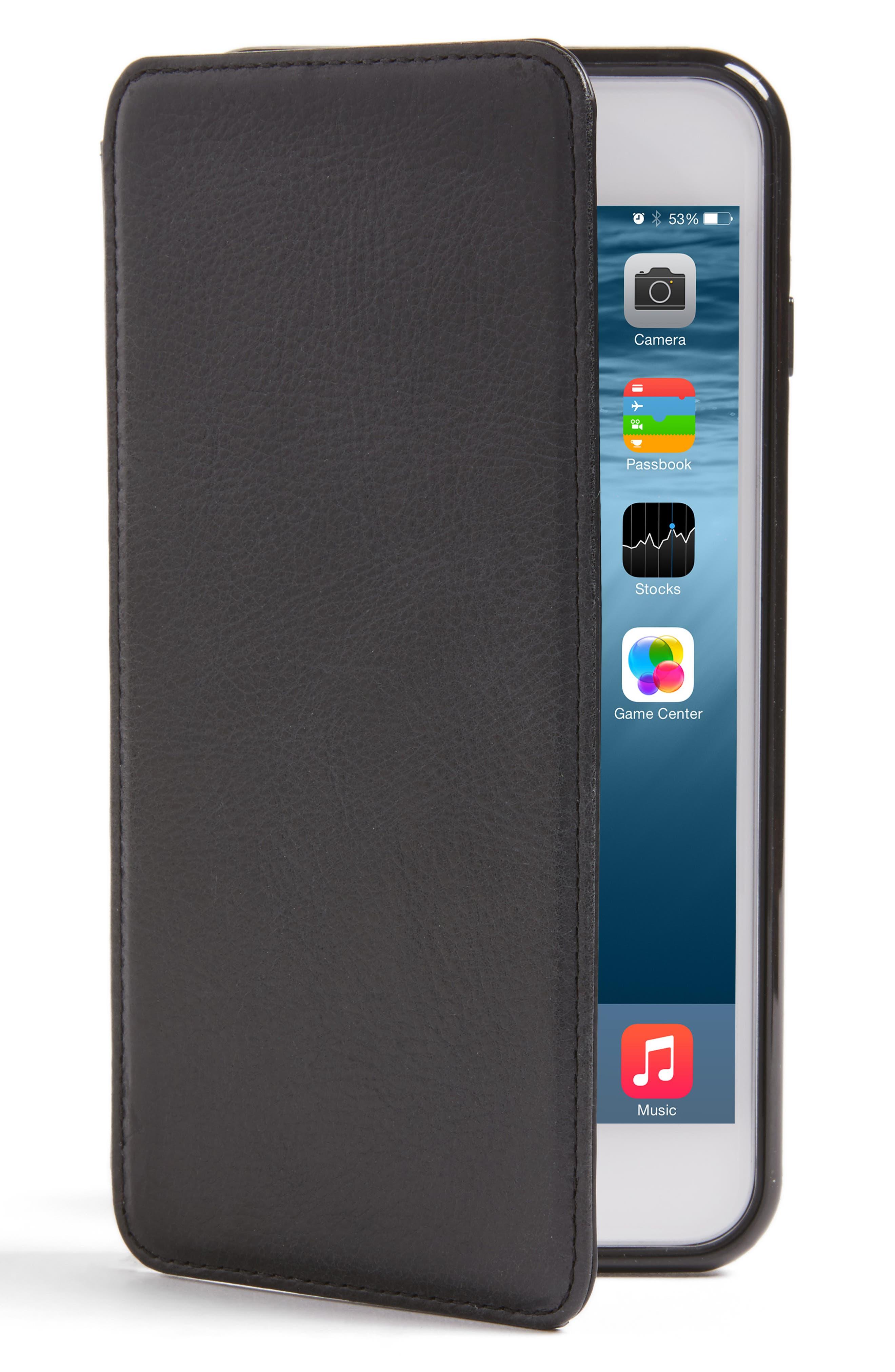 Sena iPhone 7/8 Plus Leather Wallet Case