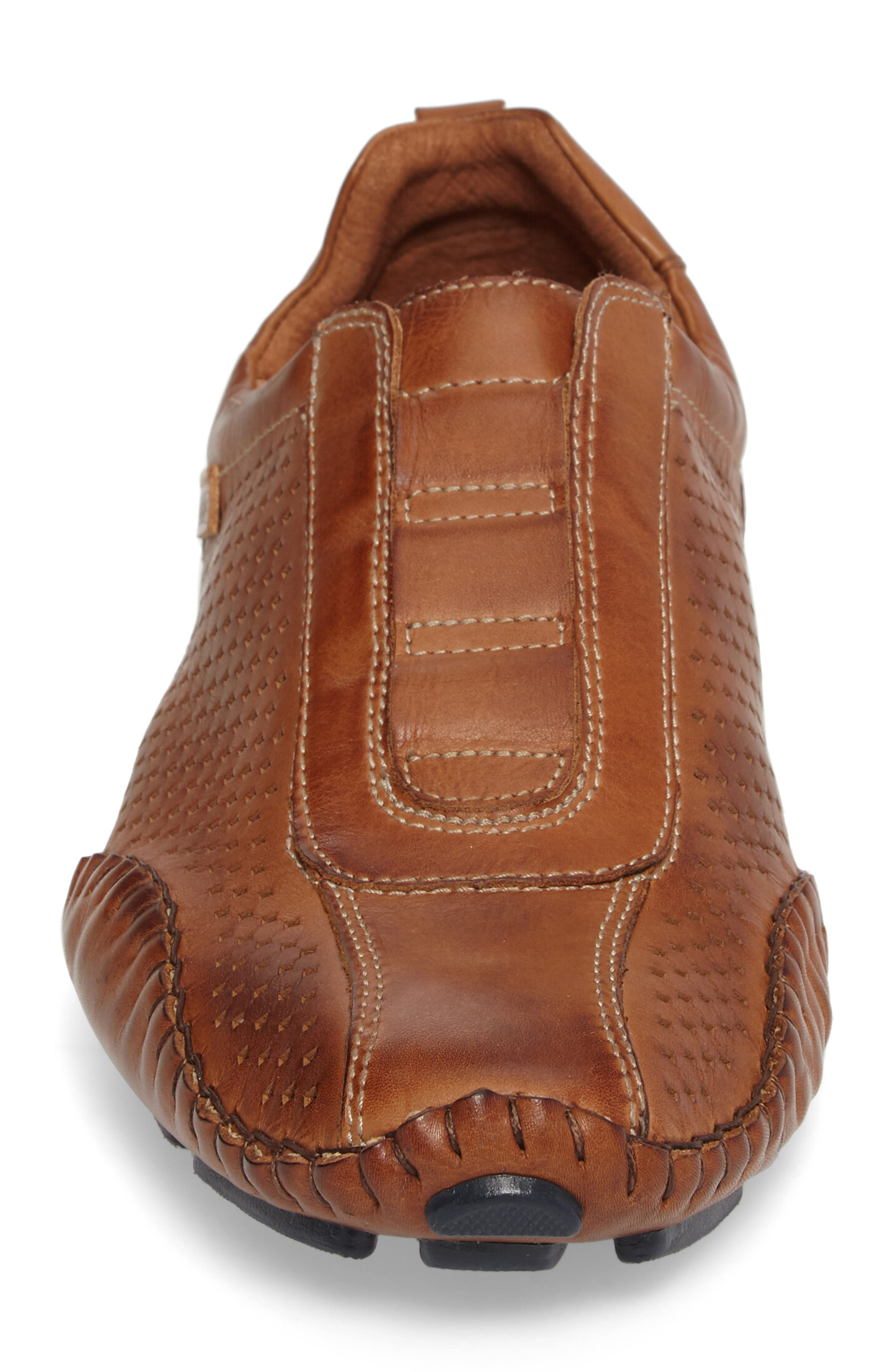 Fuencarral Driving Shoe,                             Alternate thumbnail 4, color,                             Brandy Leather
