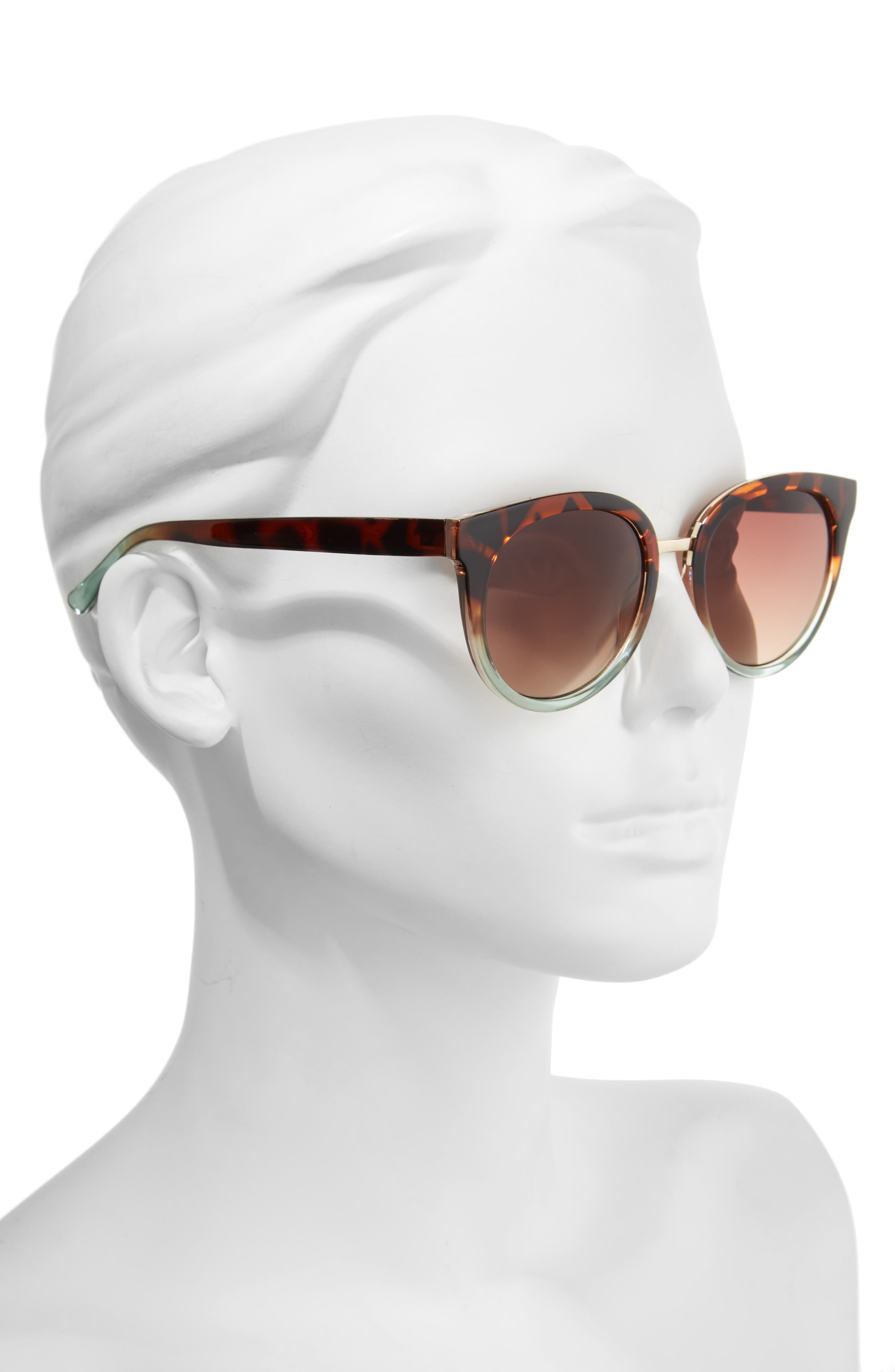 Alternate Image 2  - Circus by Sam Edelman 51mm Ombré Sunglasses