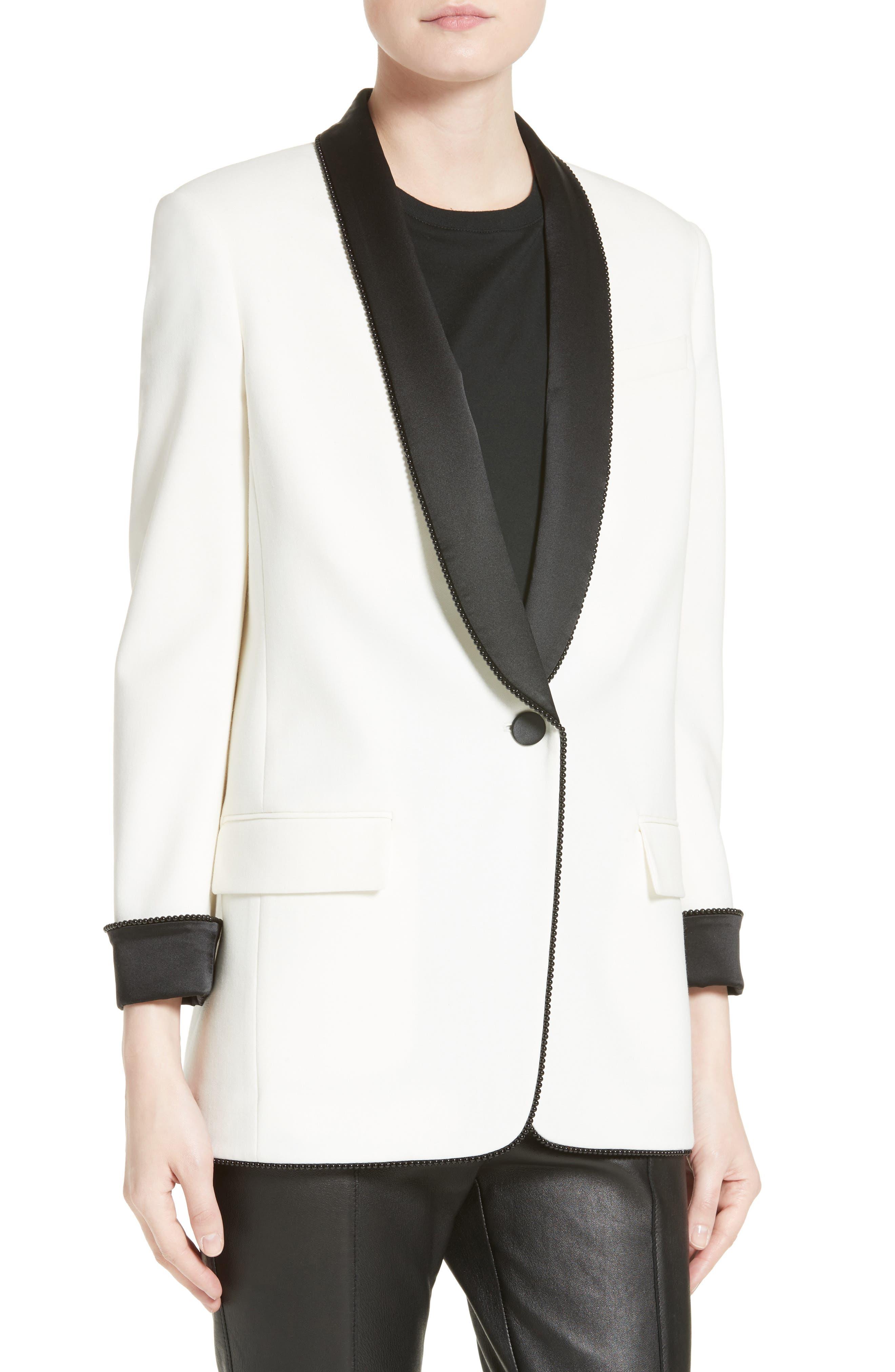 Alternate Image 6  - Alexander Wang Chain Trim Tuxedo Blazer