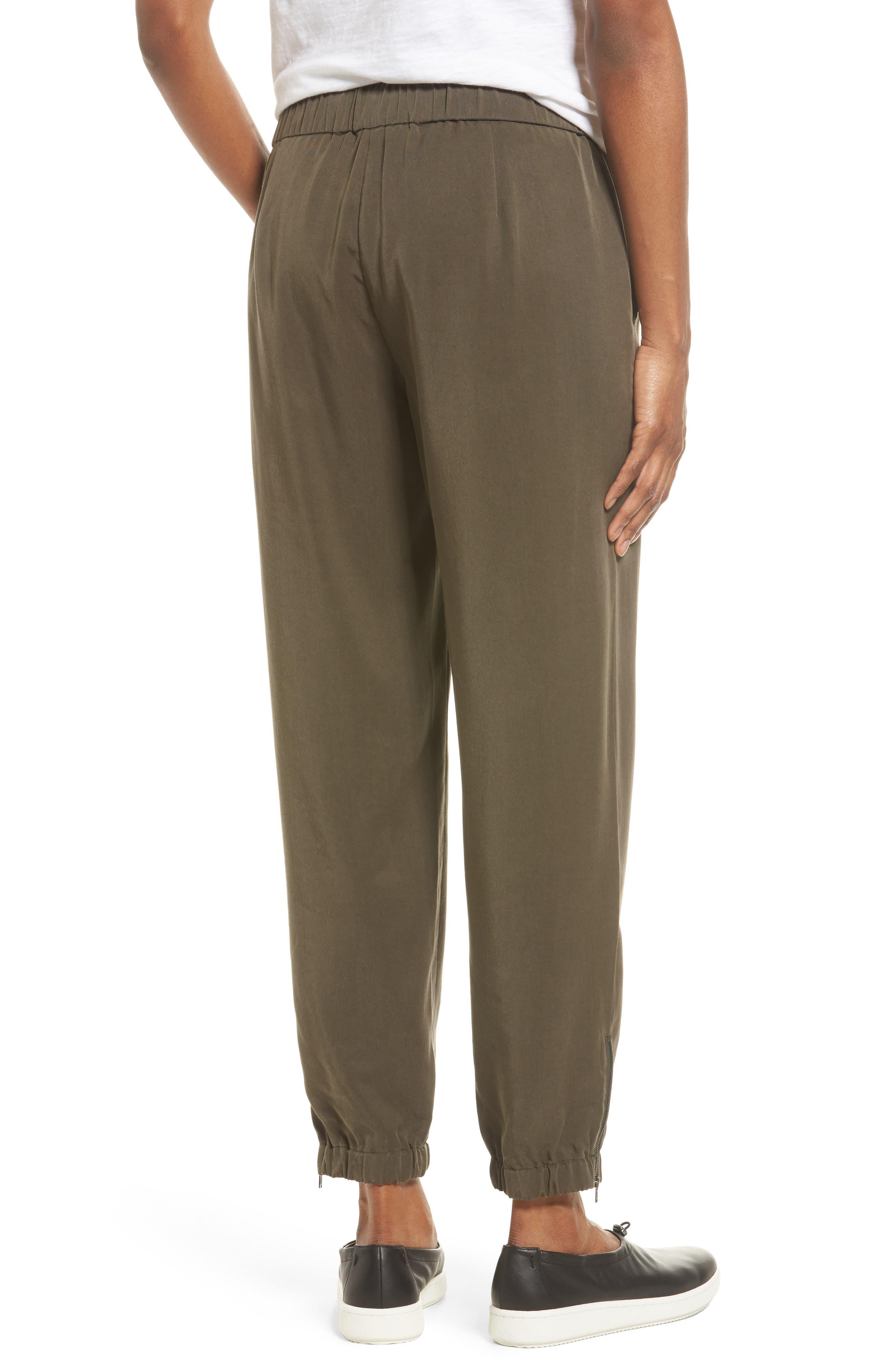 Alternate Image 2  - Eileen Fisher Tencel® Drawstring Ankle Pants