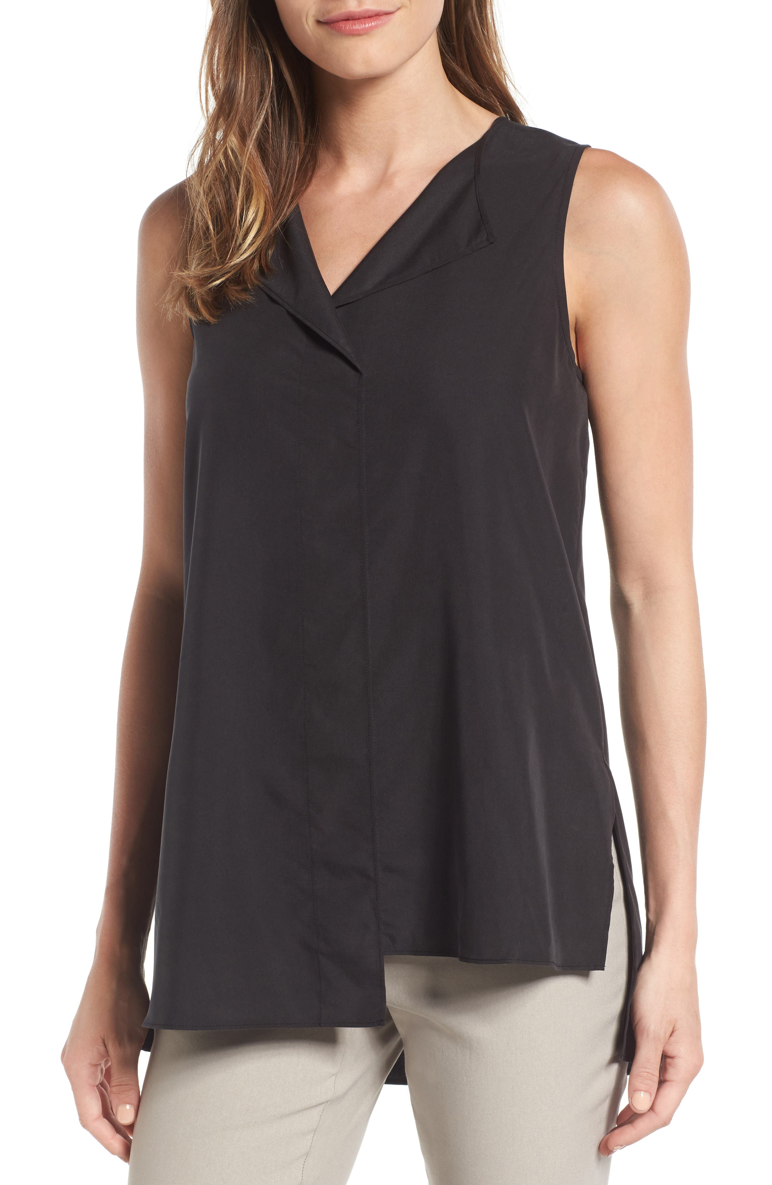 City Slicker Top,                             Main thumbnail 1, color,                             Washed Black