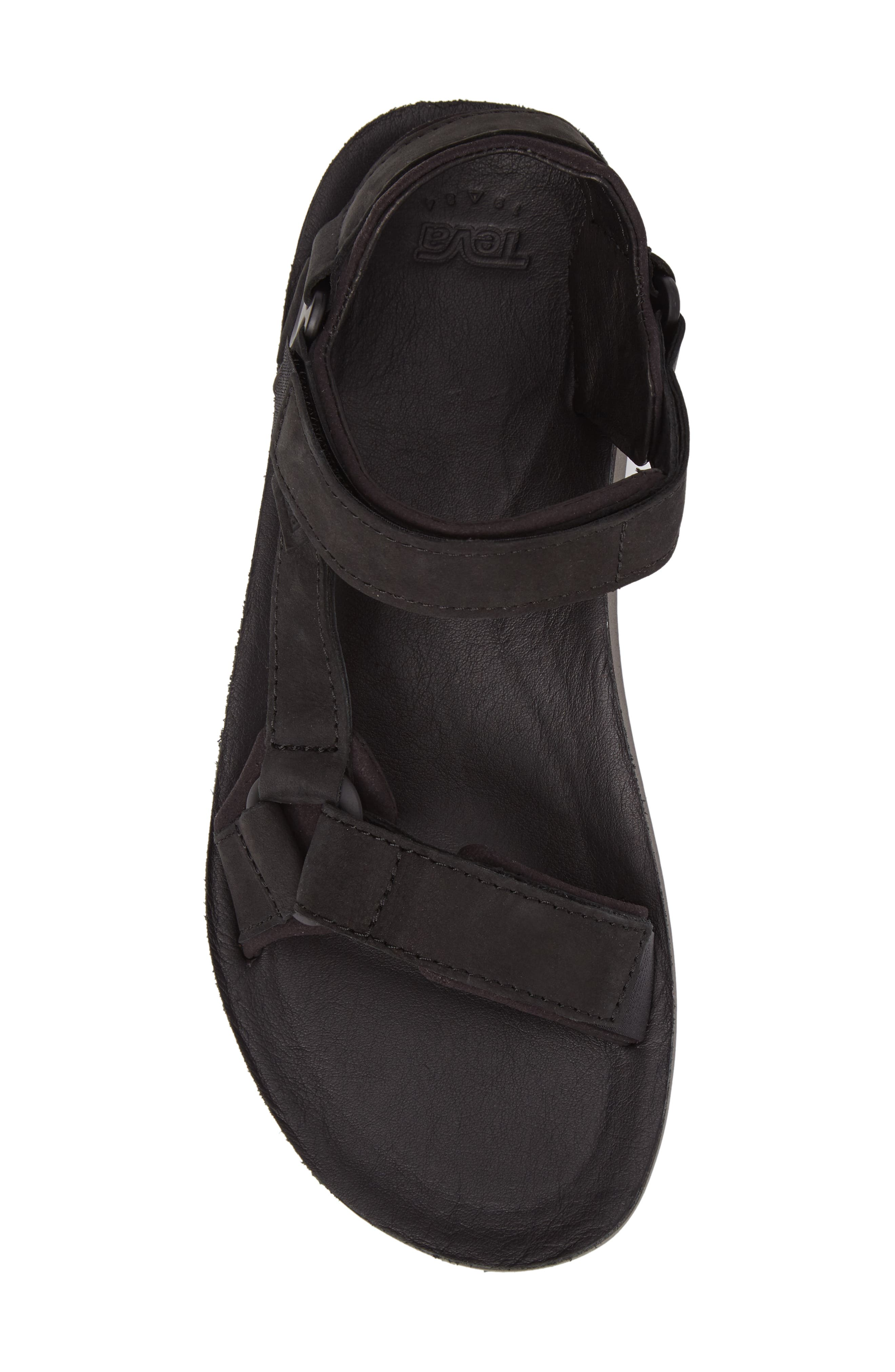 Original Universal Premier Sandal,                             Alternate thumbnail 5, color,                             Black