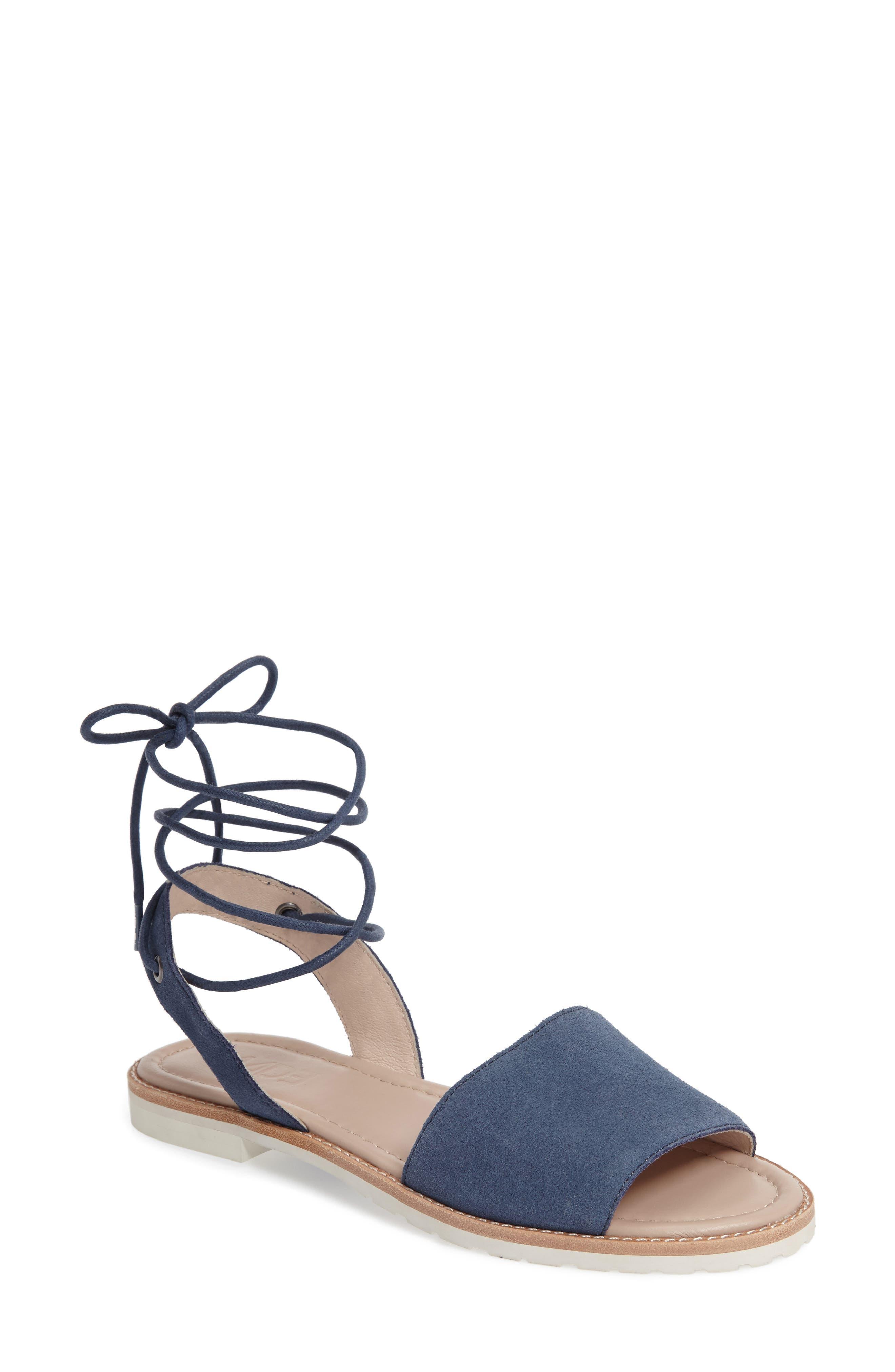 M4D3 Paige Ankle Wrap Sandal (Women)