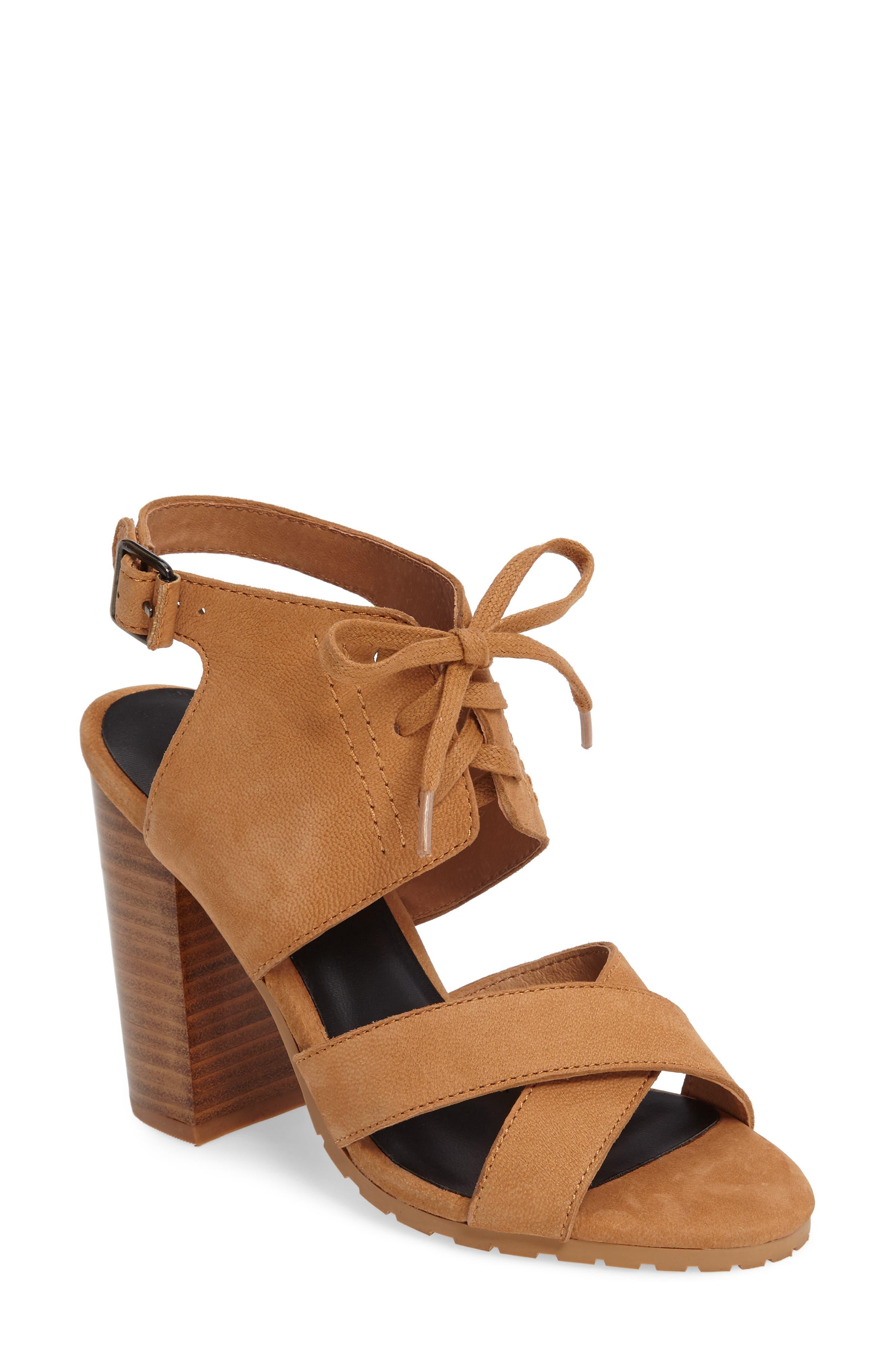 M4D3 FOOTWEAR M4D3 Madi Block Heel Sandal