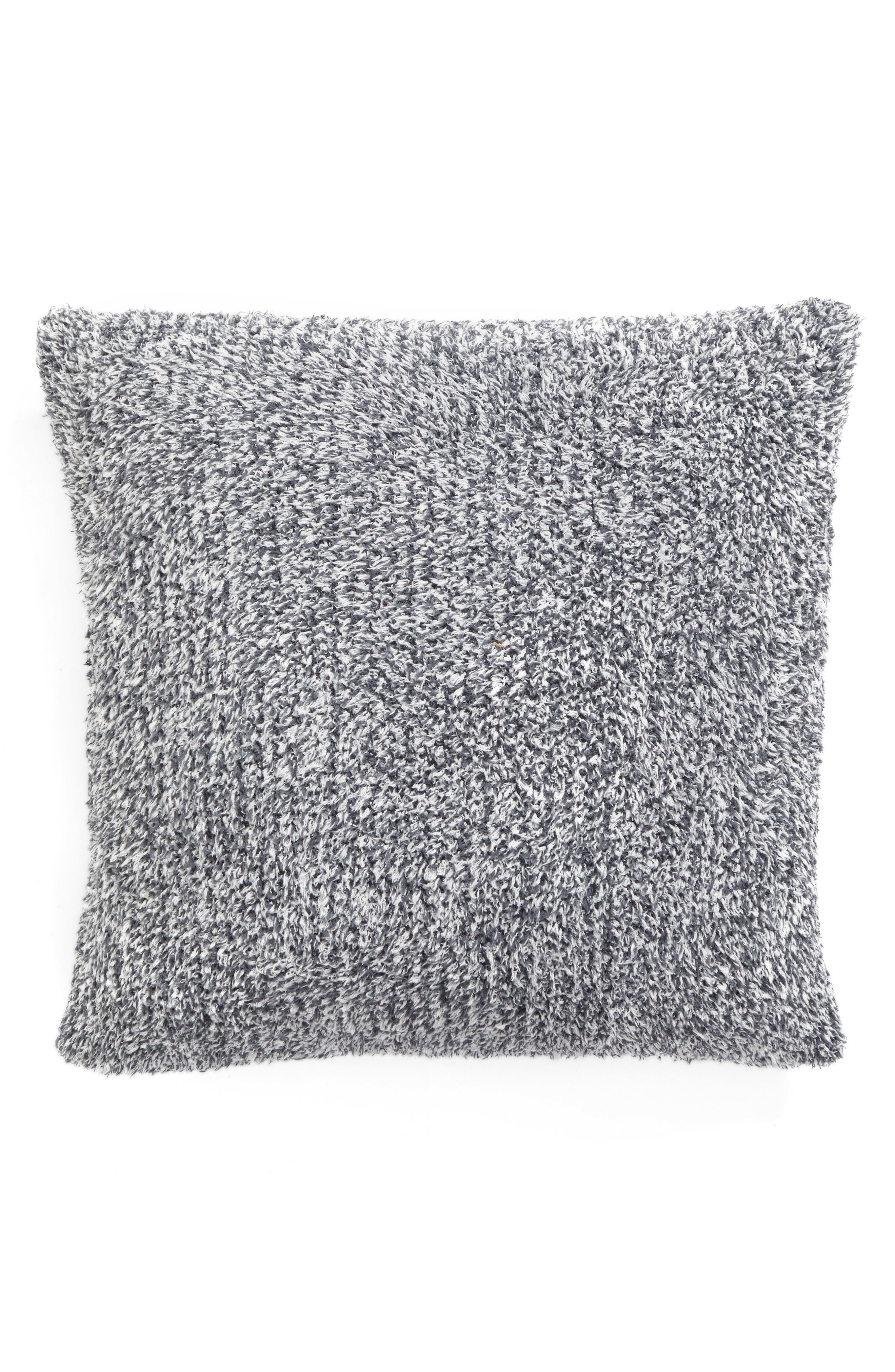 Main Image - Barefoot Dreams® Cozychic® Heathered Accent Pillow
