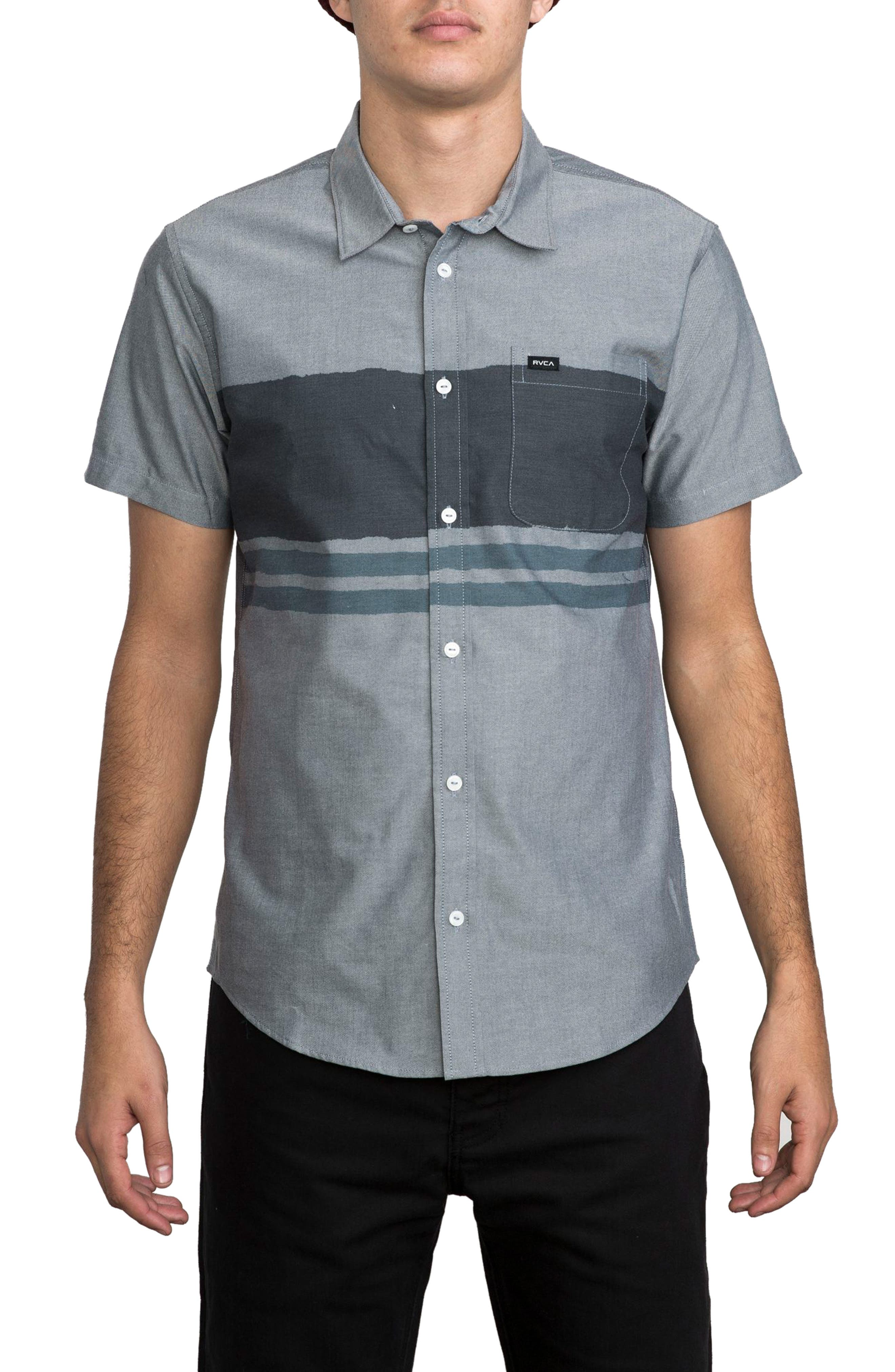 RVCA RCVA Thatll Do Bar 2 Woven Shirt