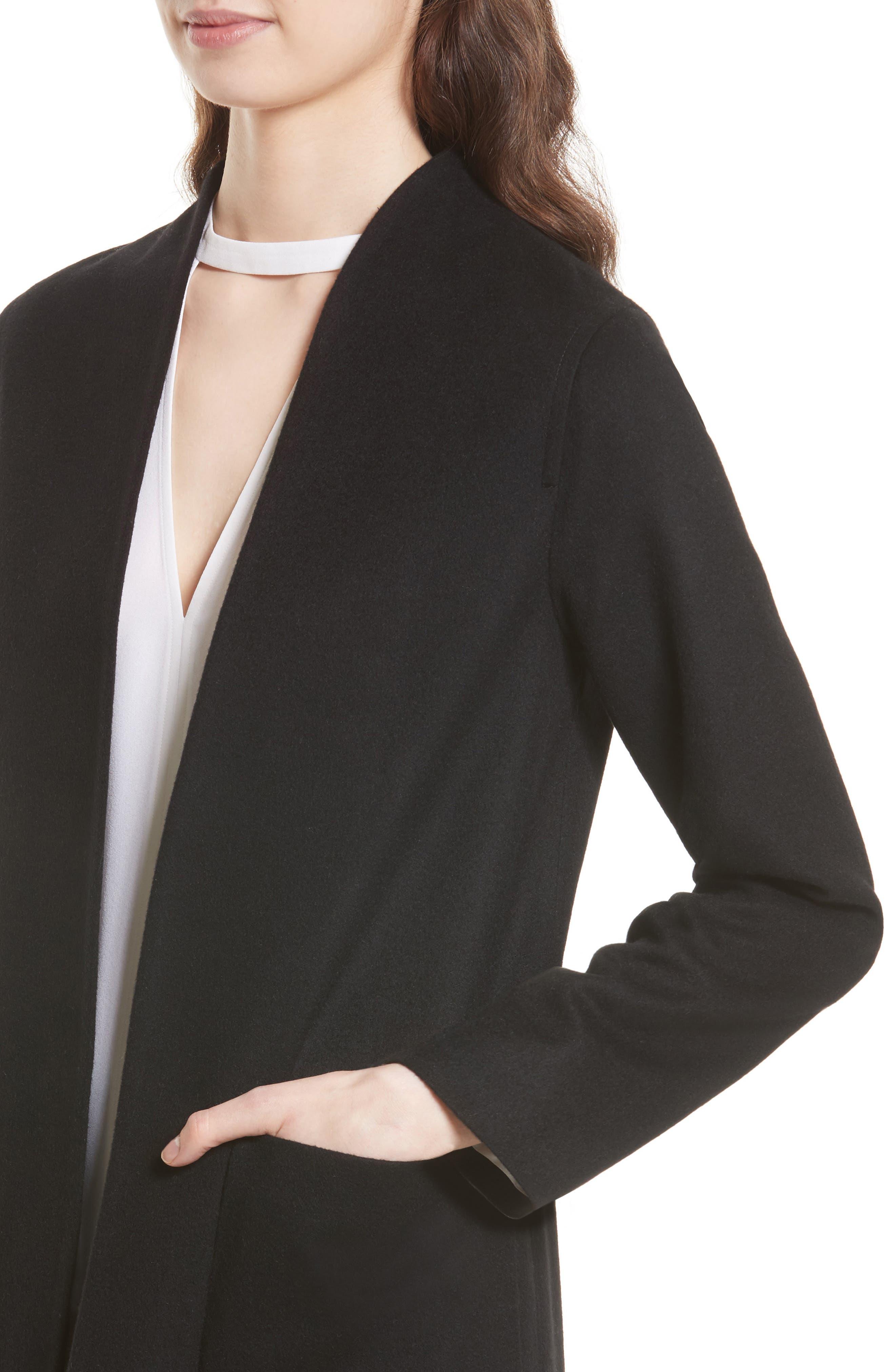 Alternate Image 4  - Helene Berman Wool & Cashmere Longline Coat
