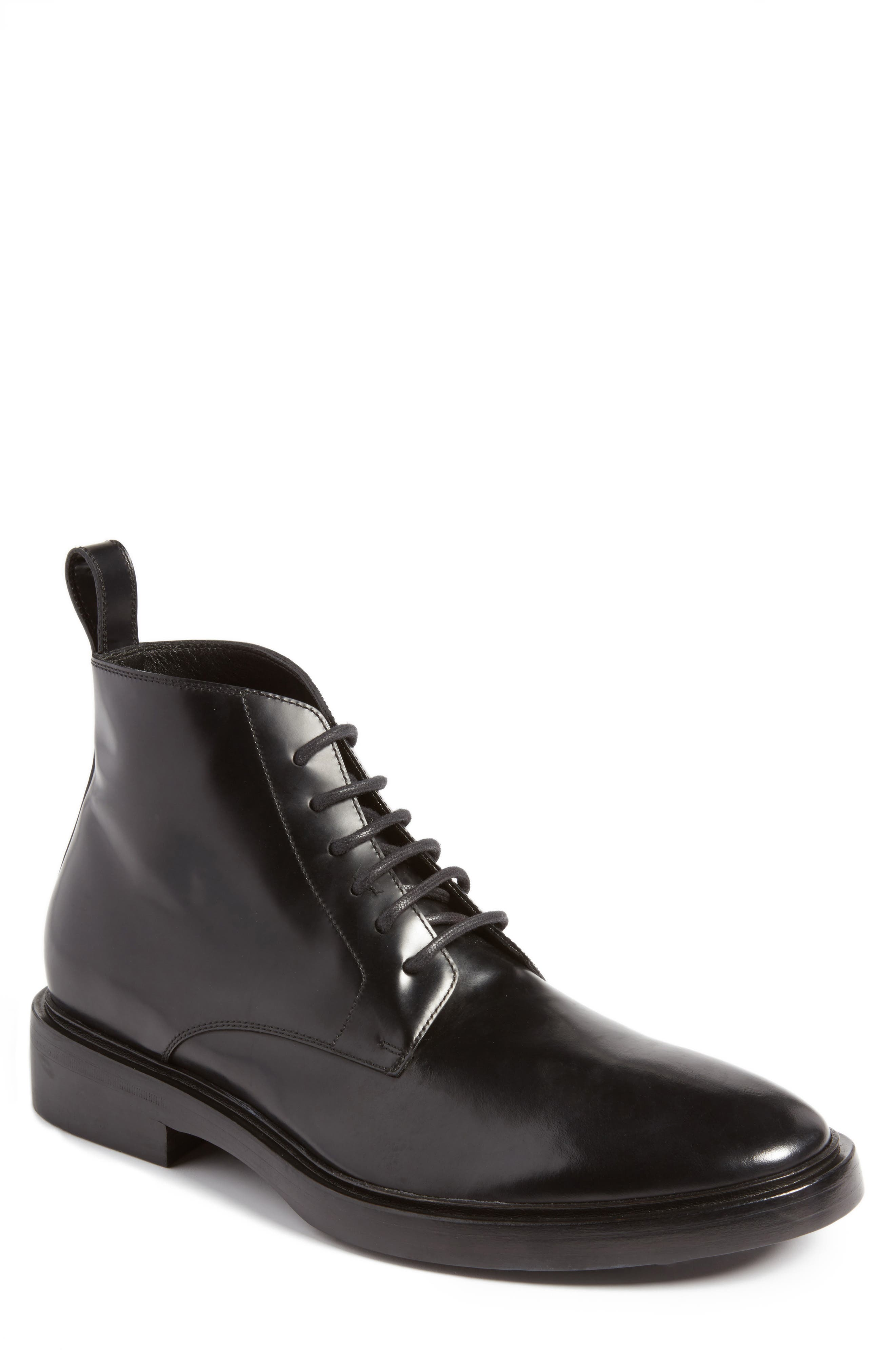 Balenciaga Plain Toe Boot (Men)