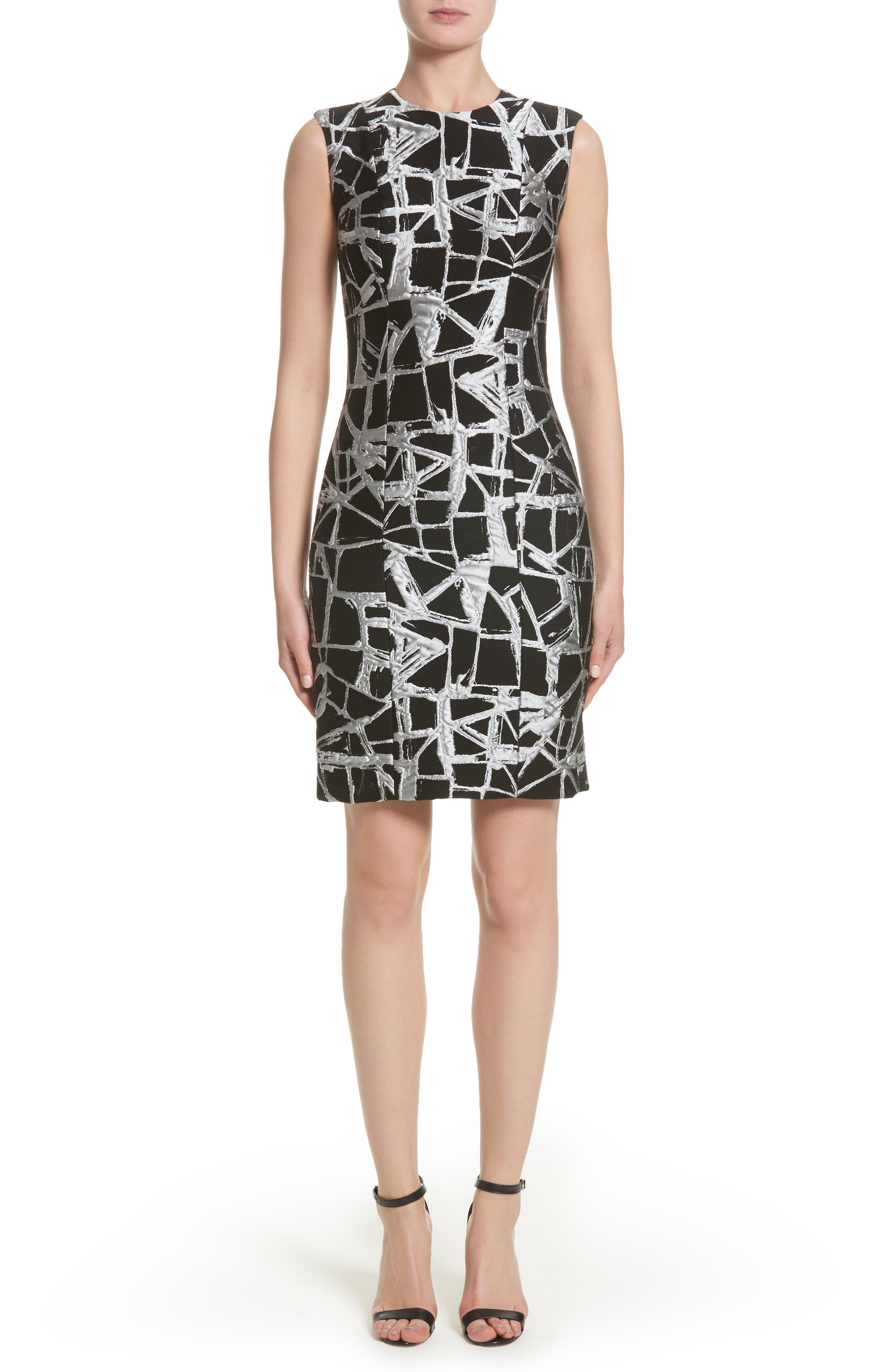 Sheath Dress,                         Main,                         color, Black