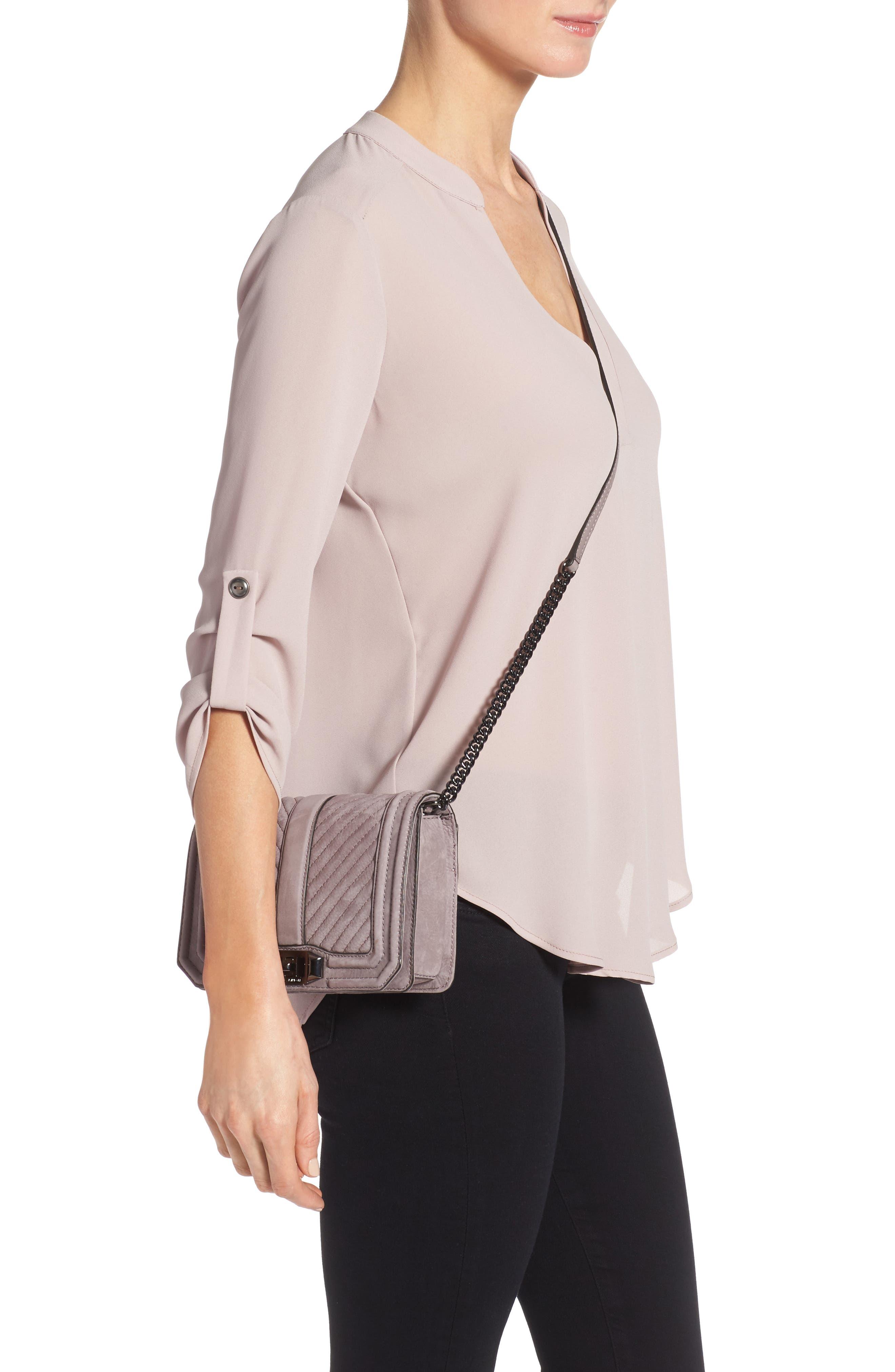 Alternate Image 2  - Rebecca Minkoff Small Love Nubuck Crossbody Bag (Nordstrom Exclusive)