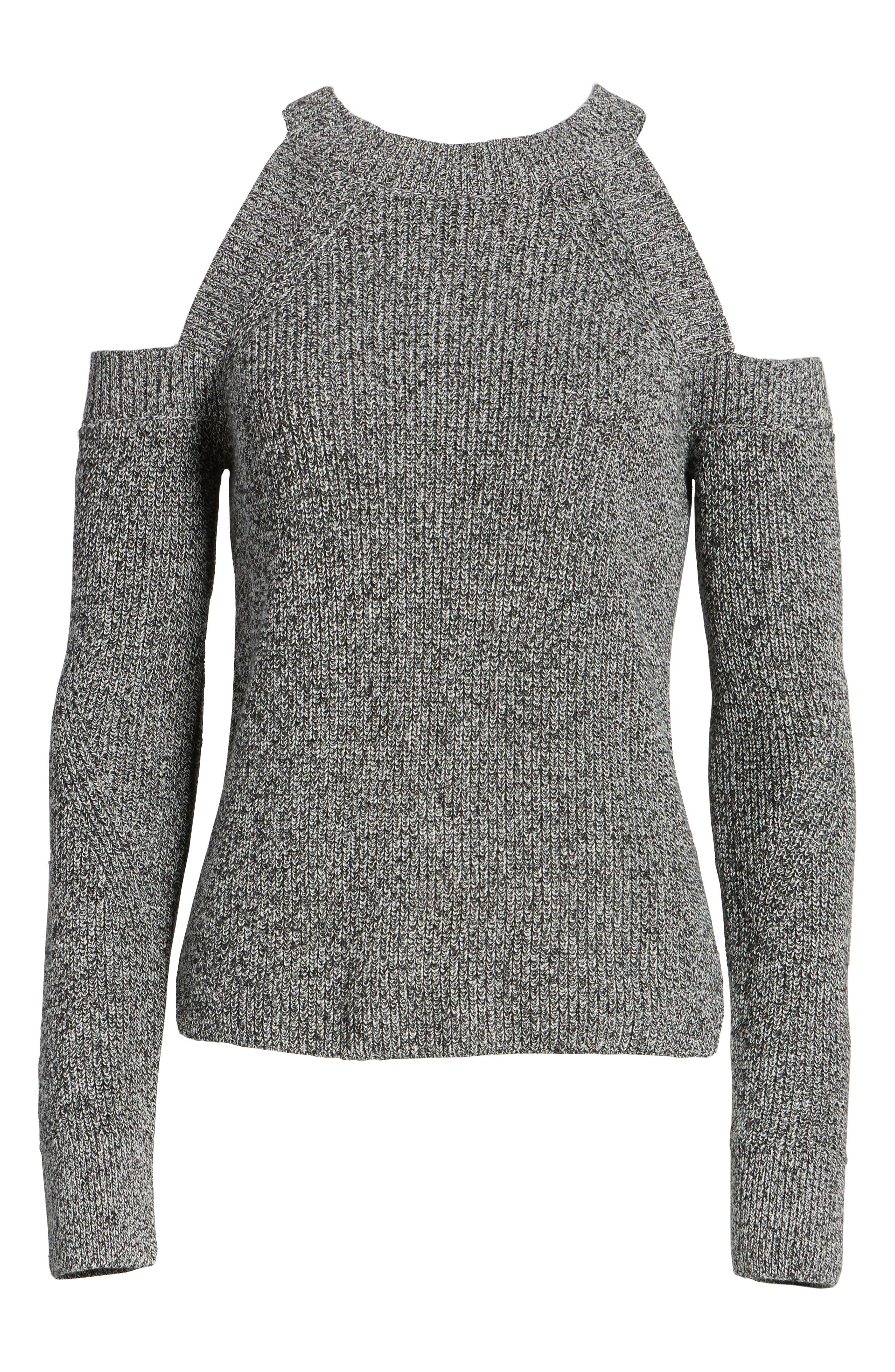 Alternate Image 6  - rag & bone/JEAN Dana Cold Shoulder Sweater