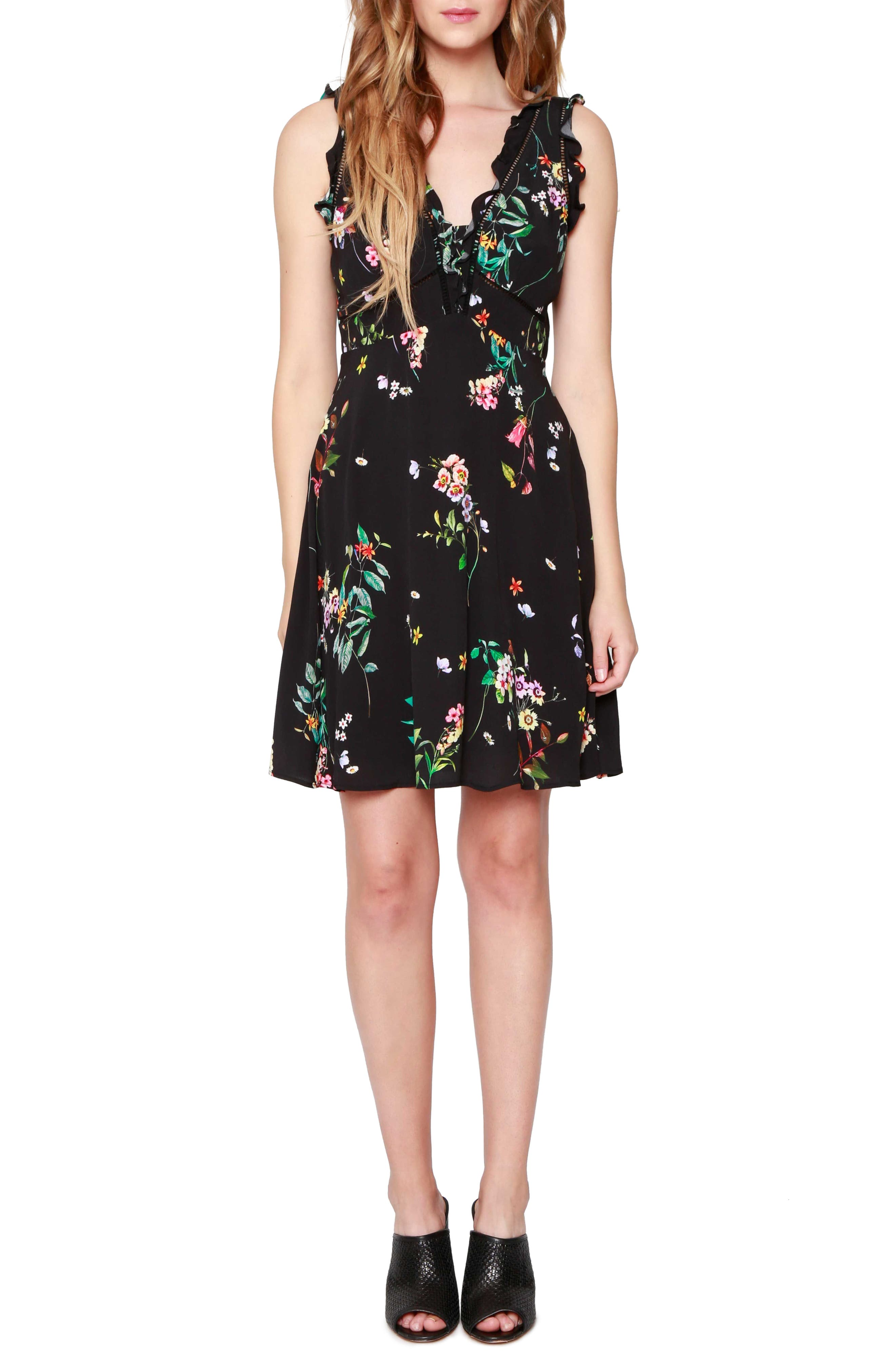 WILLOW & CLAY Floral Minidress
