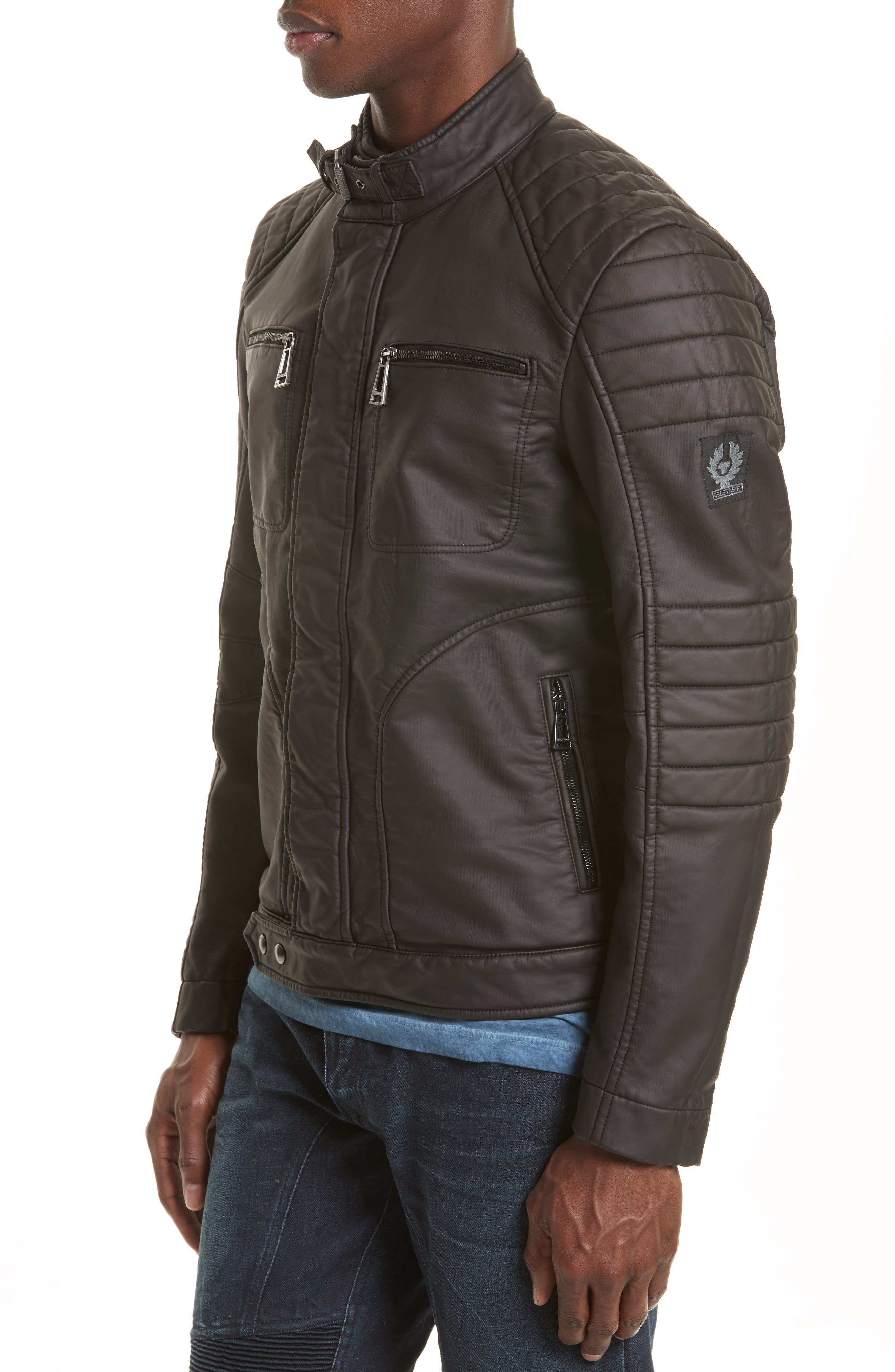 Alternate Image 4  - Belstaff Weybridge Waxed Cotton Jacket