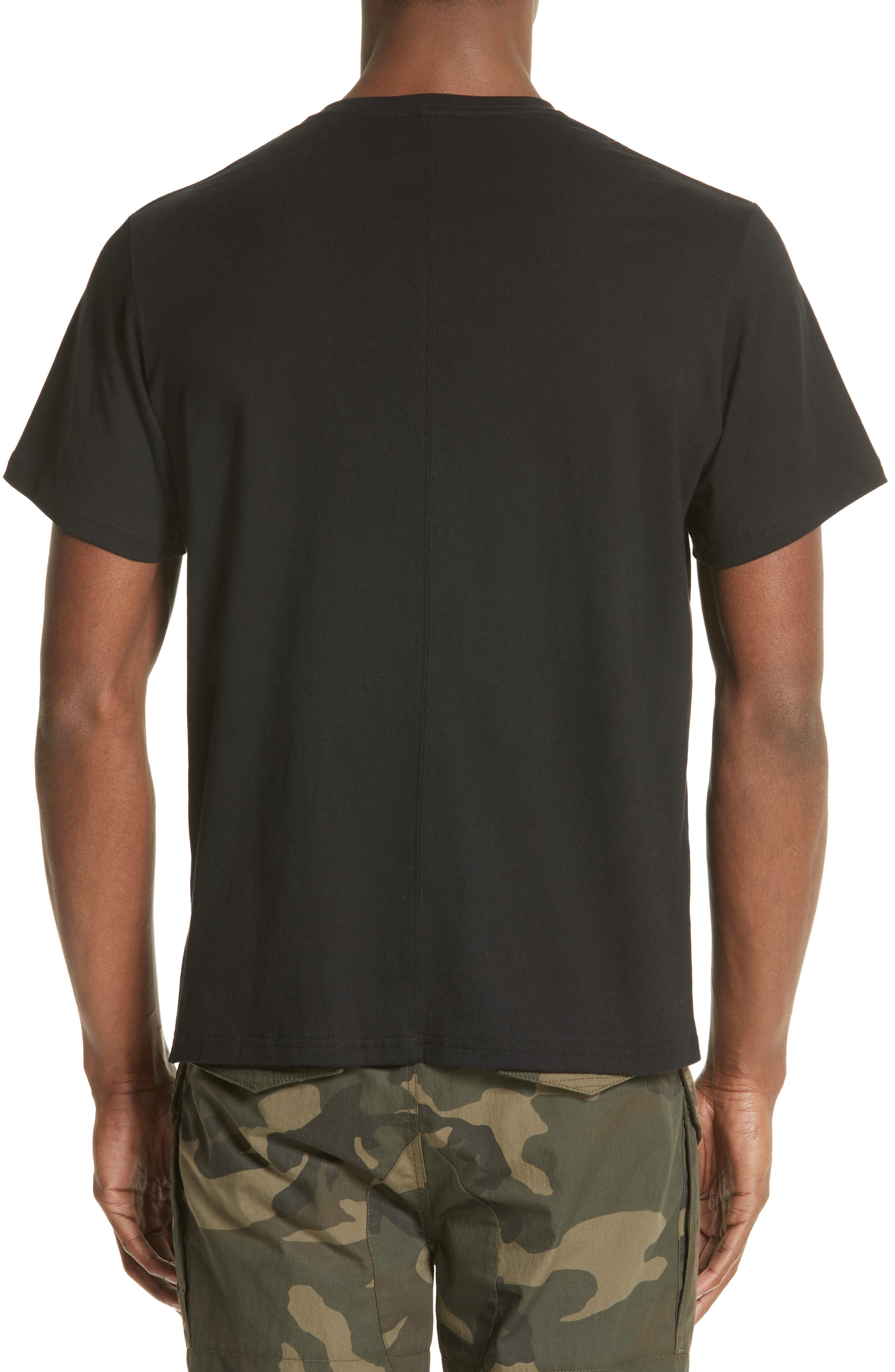 Alternate Image 2  - OVADIA & SONS Zip Pocket T-Shirt