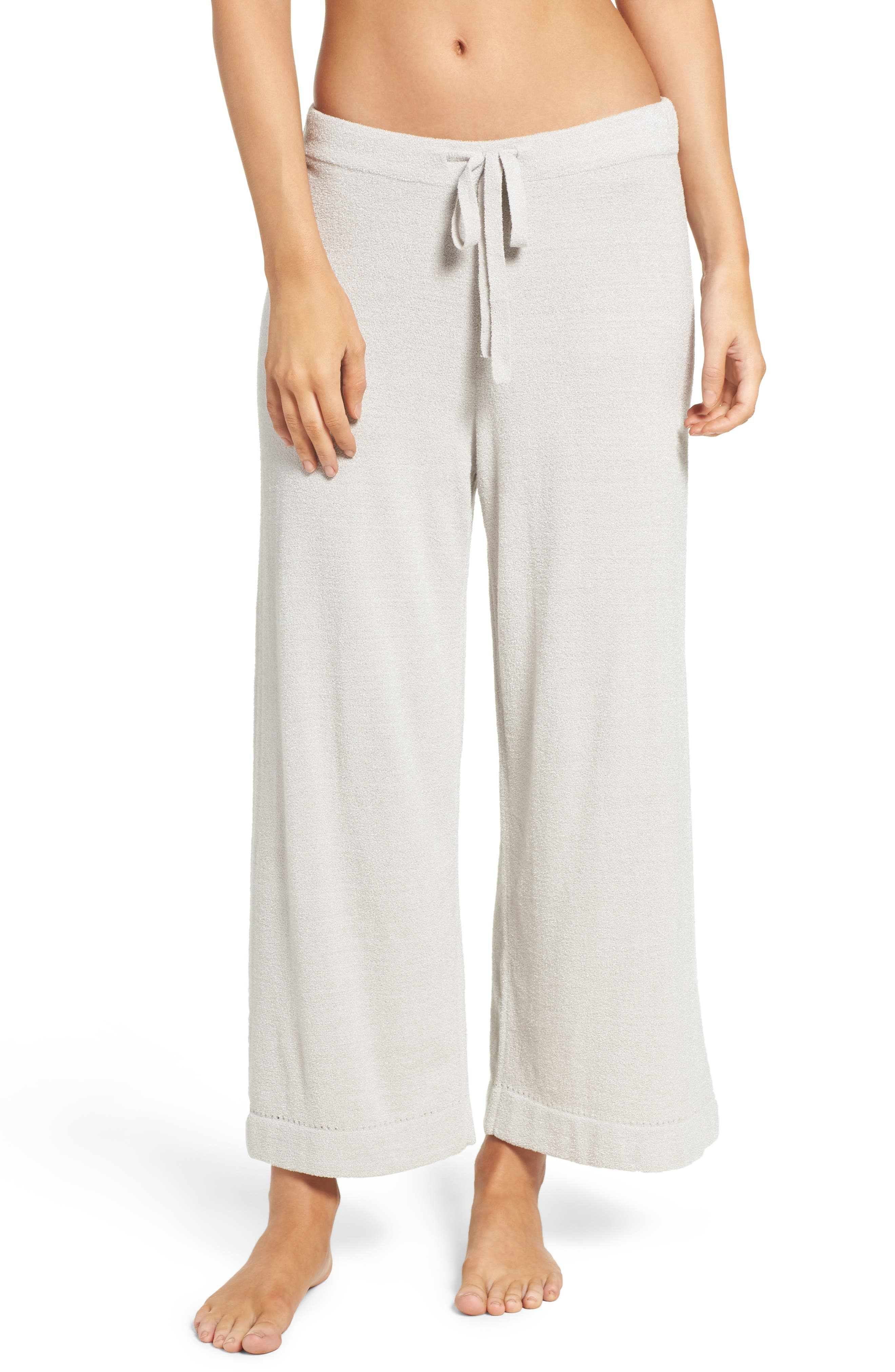 Cozychic Ultra Lite<sup>®</sup> Culotte Lounge Pants,                         Main,                         color, Fog Gray