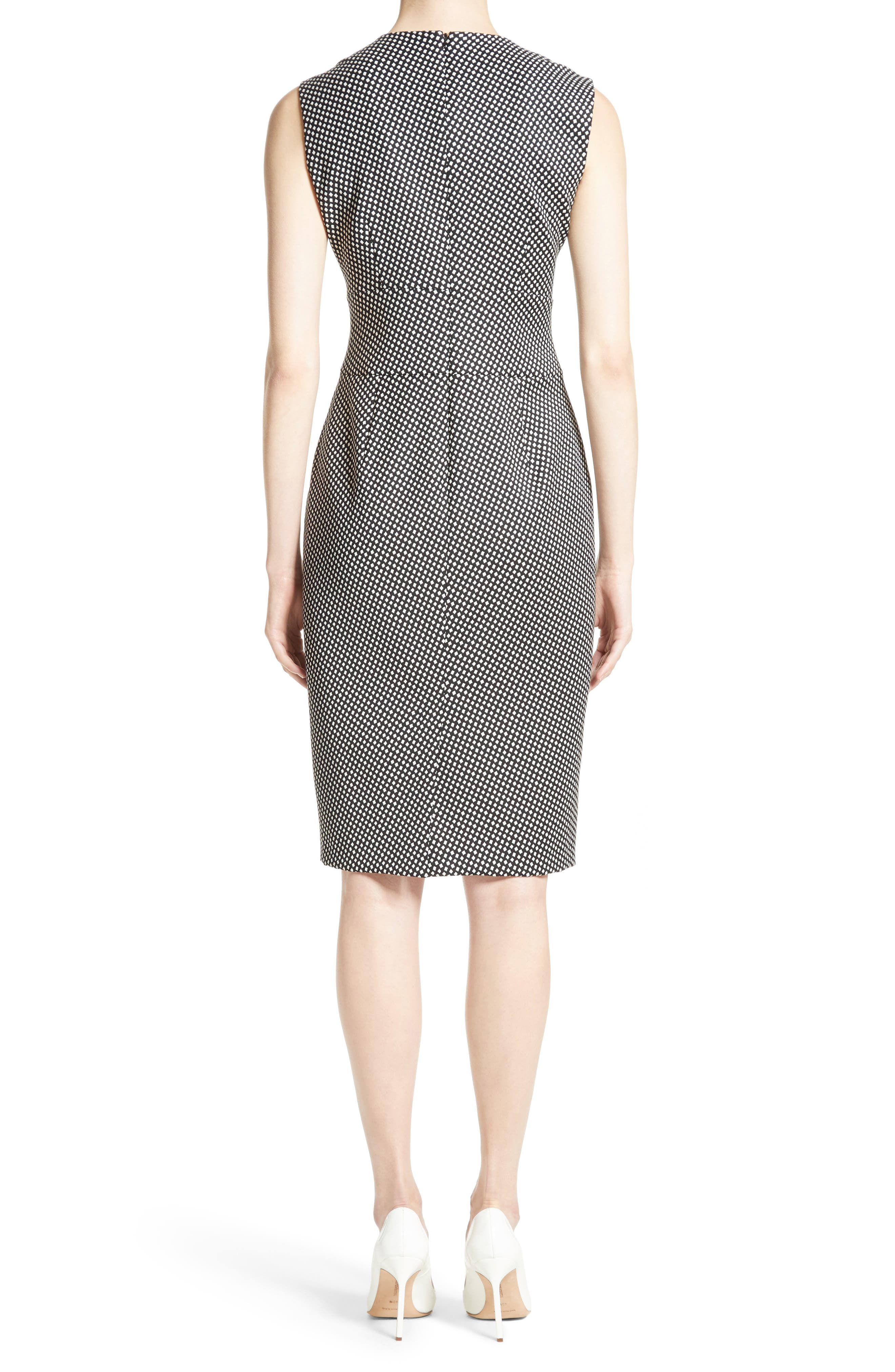 Cerea Sheath Dress,                             Alternate thumbnail 2, color,                             Black
