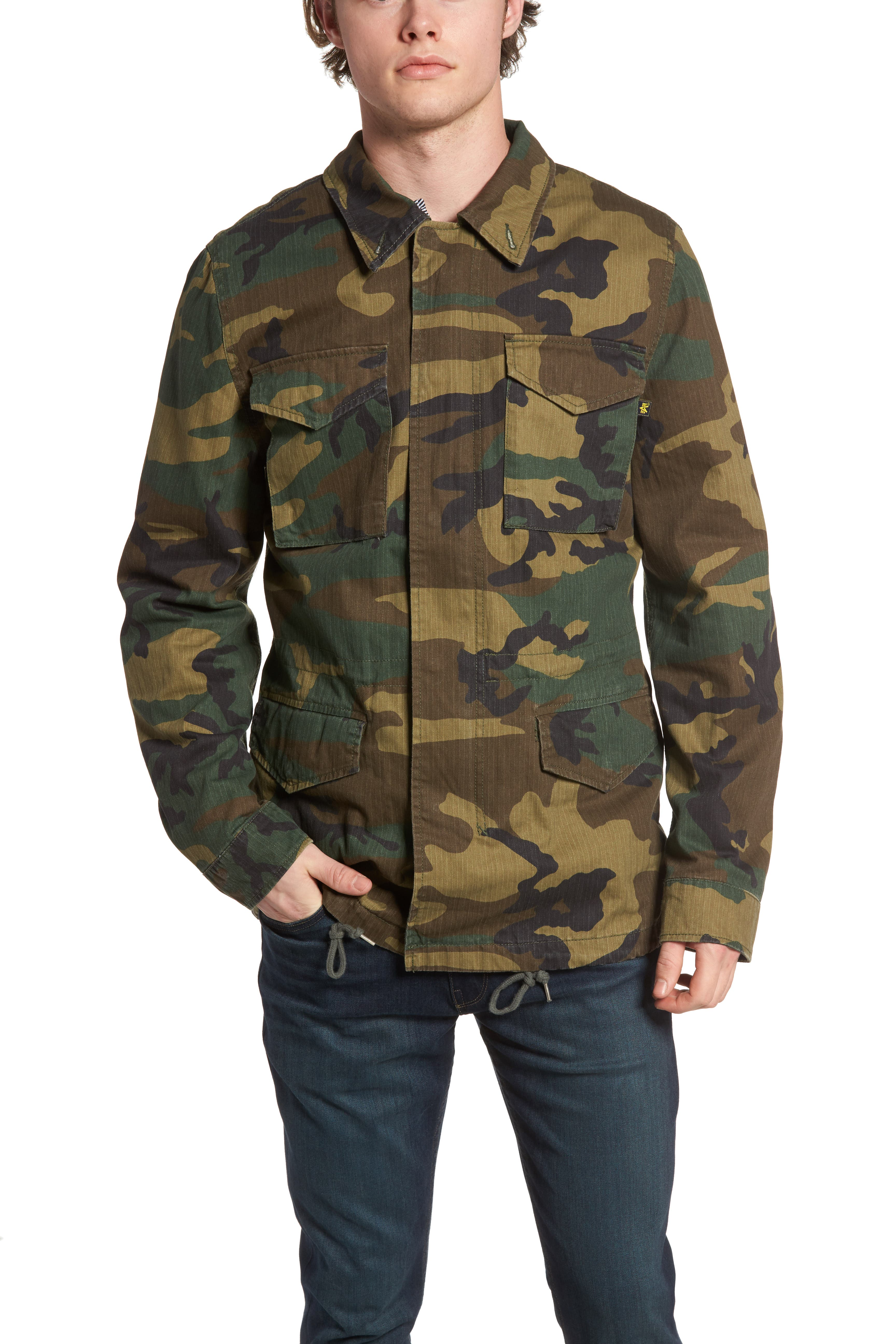 Alternate Image 4  - Alpha Industries Dragon Tour Camo Field Jacket