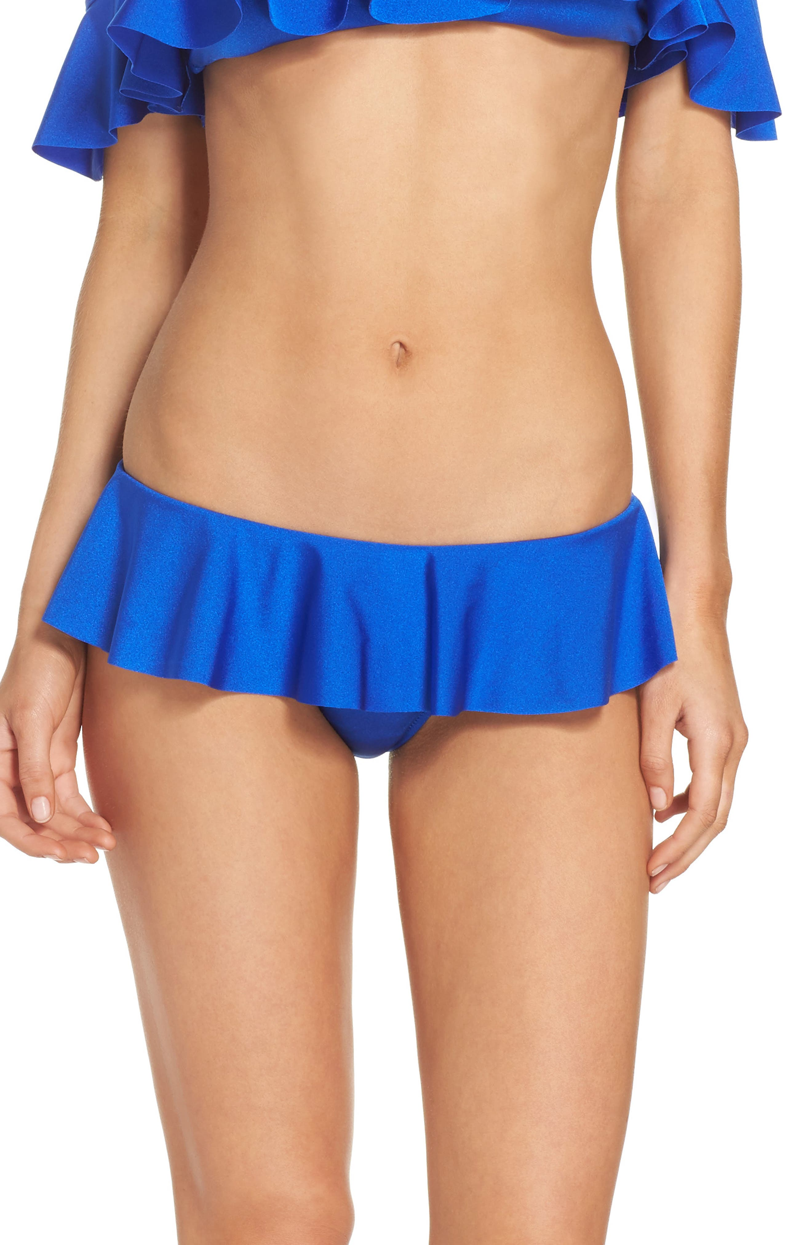 Milly Sirolo Ruffle Bikini Bottoms
