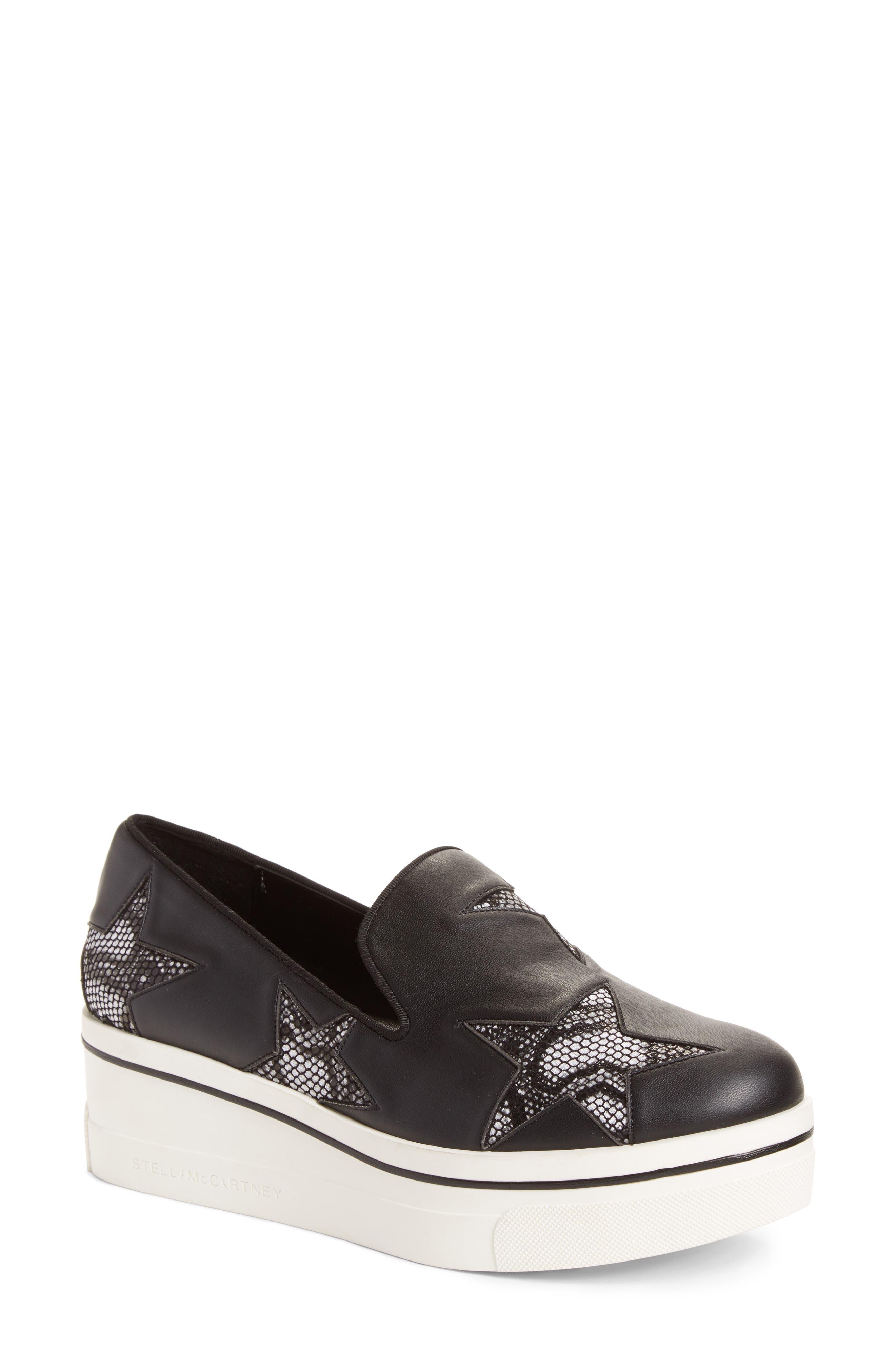 Main Image - Stella McCartney Binx Stars Platform Sneaker (Women)