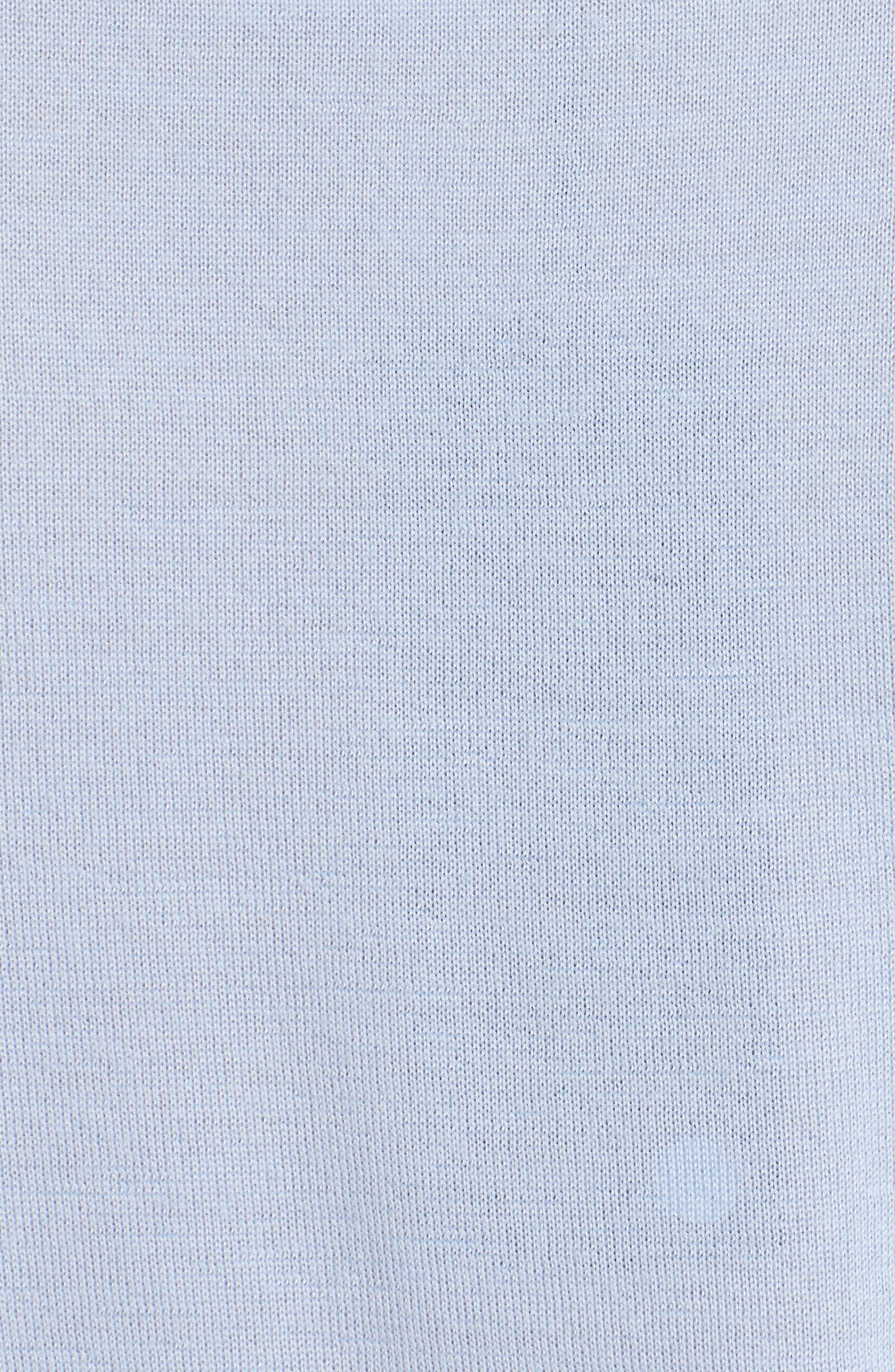 Cashmere & Silk Shell,                             Alternate thumbnail 3, color,                             Light Blue