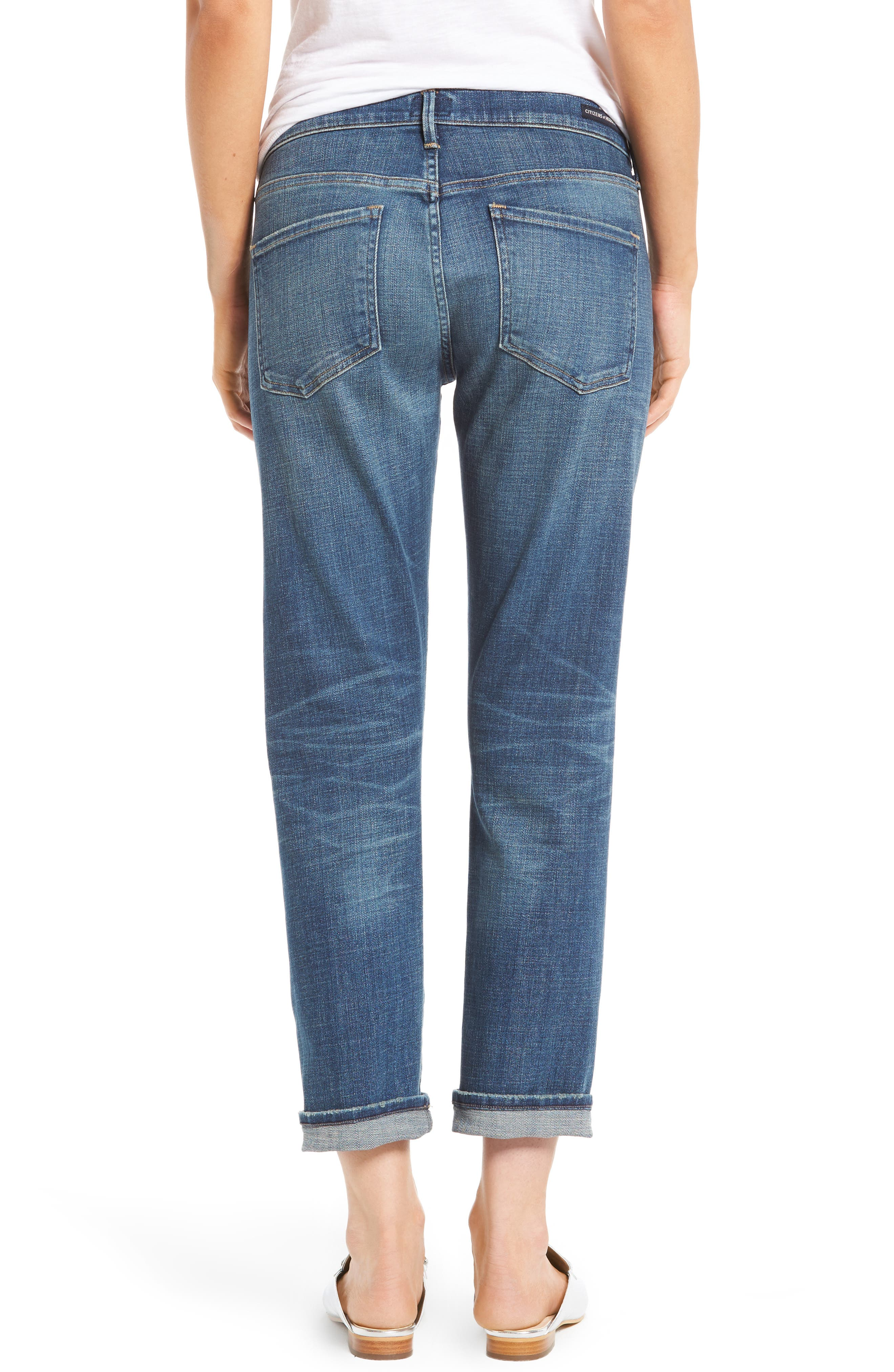 Alternate Image 2  - Citizens of Humanity Emerson Slim Boyfriend Jeans (Crusade)