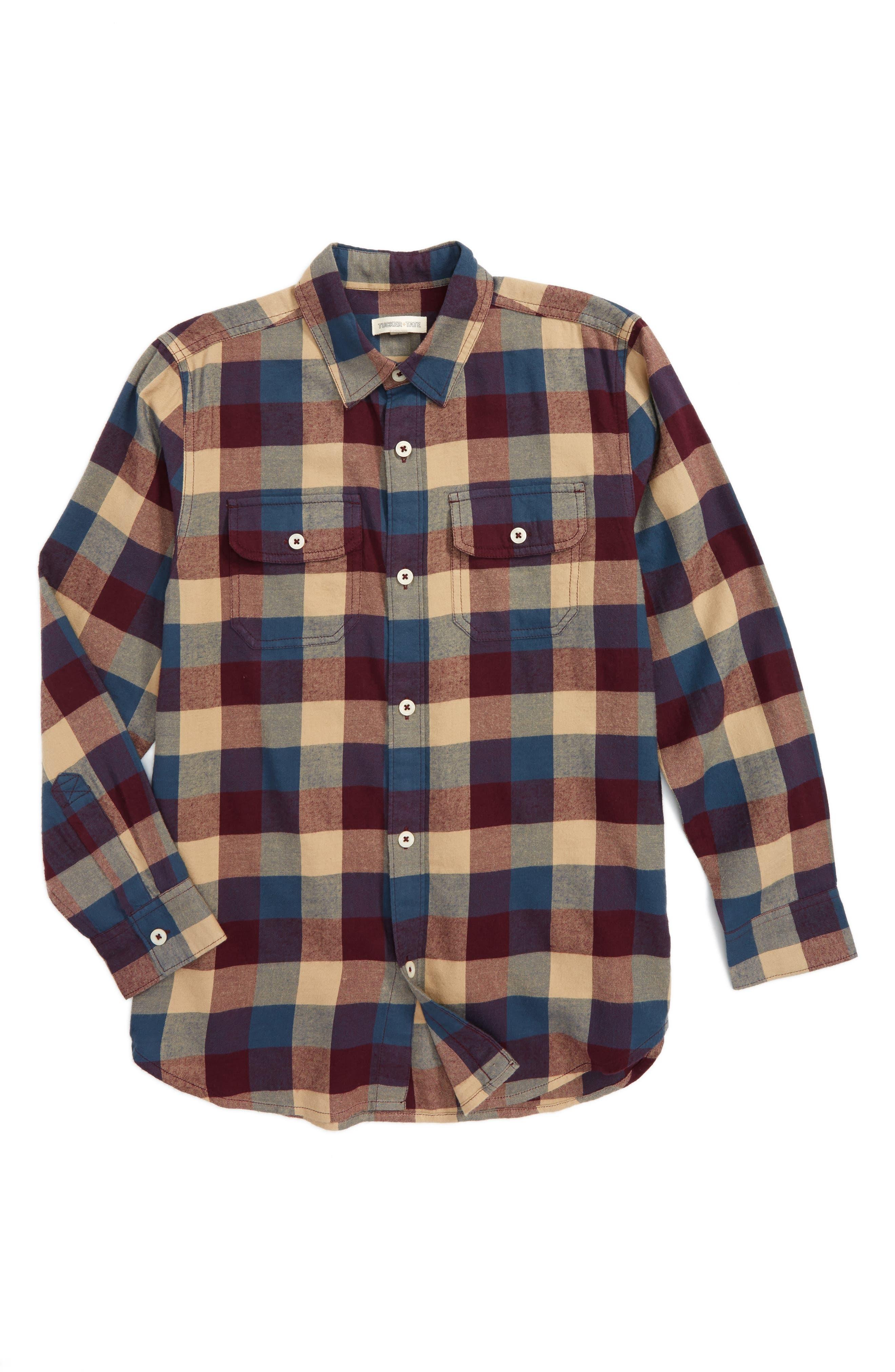 Tucker + Tate Ultrasoft Flannel Shirt (Big Boys)